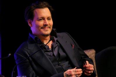 Johnny Depp at Santa Barbara film fest
