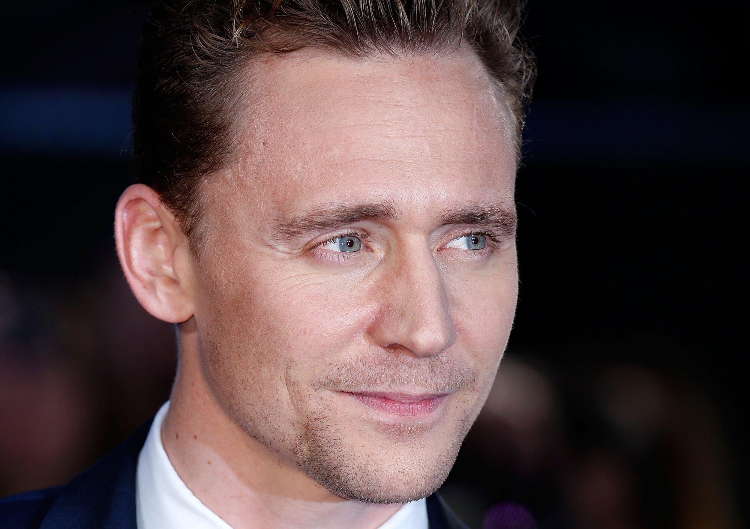 Tom Hiddleston at High-Rise premiere