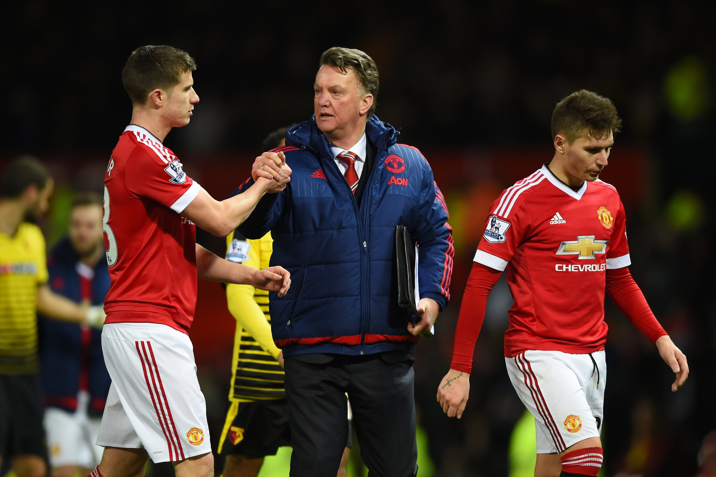 Manchester United manager Louis Van Gaal at Old Trafford, March 2.