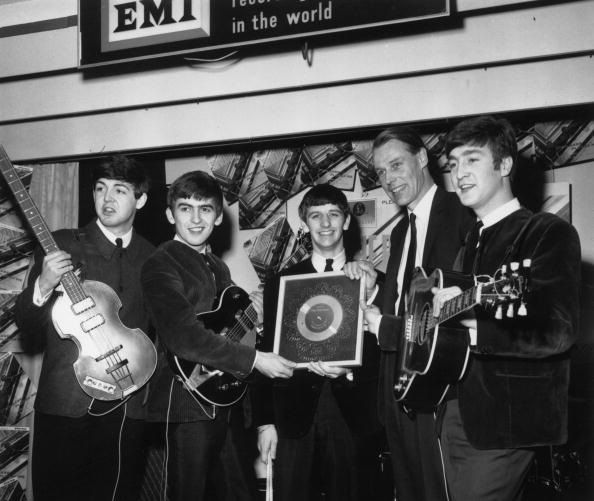 George Martin Beatles