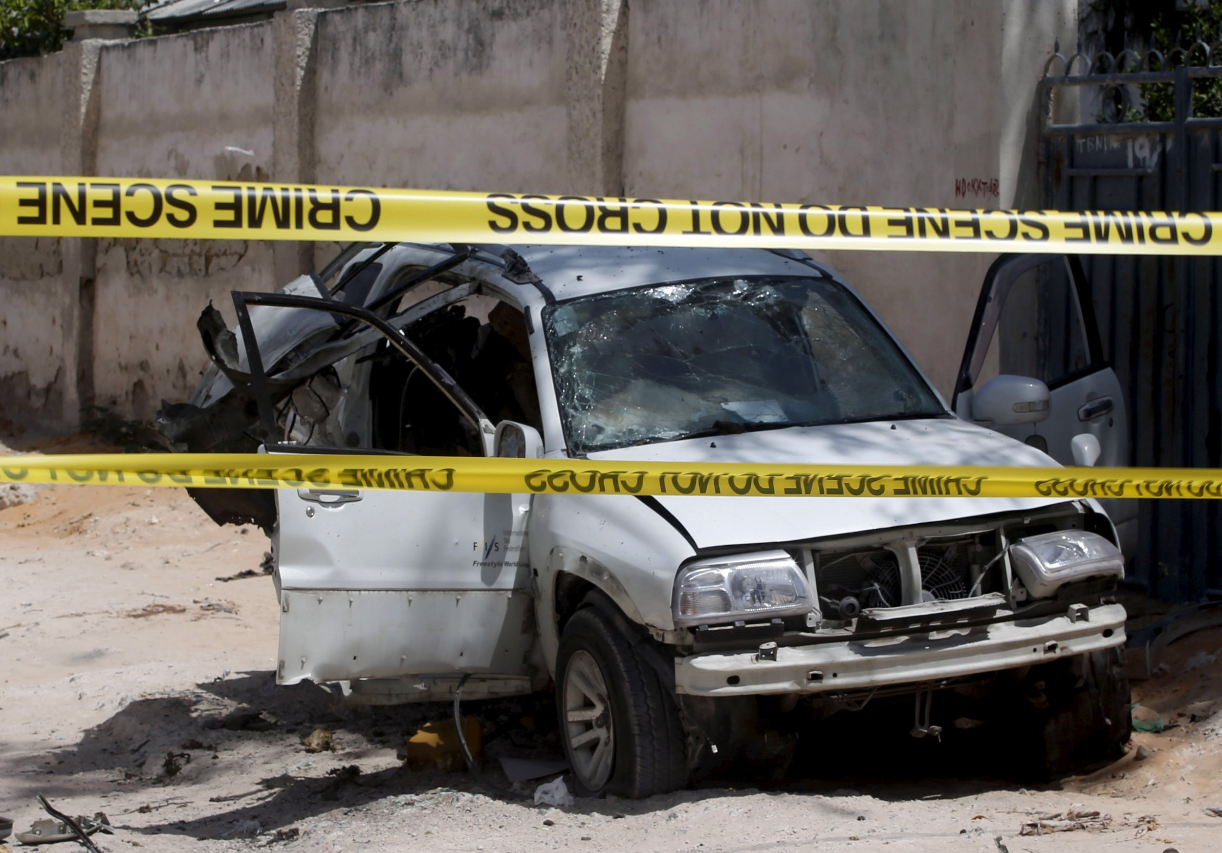 Car bomb blast in Mogadishu