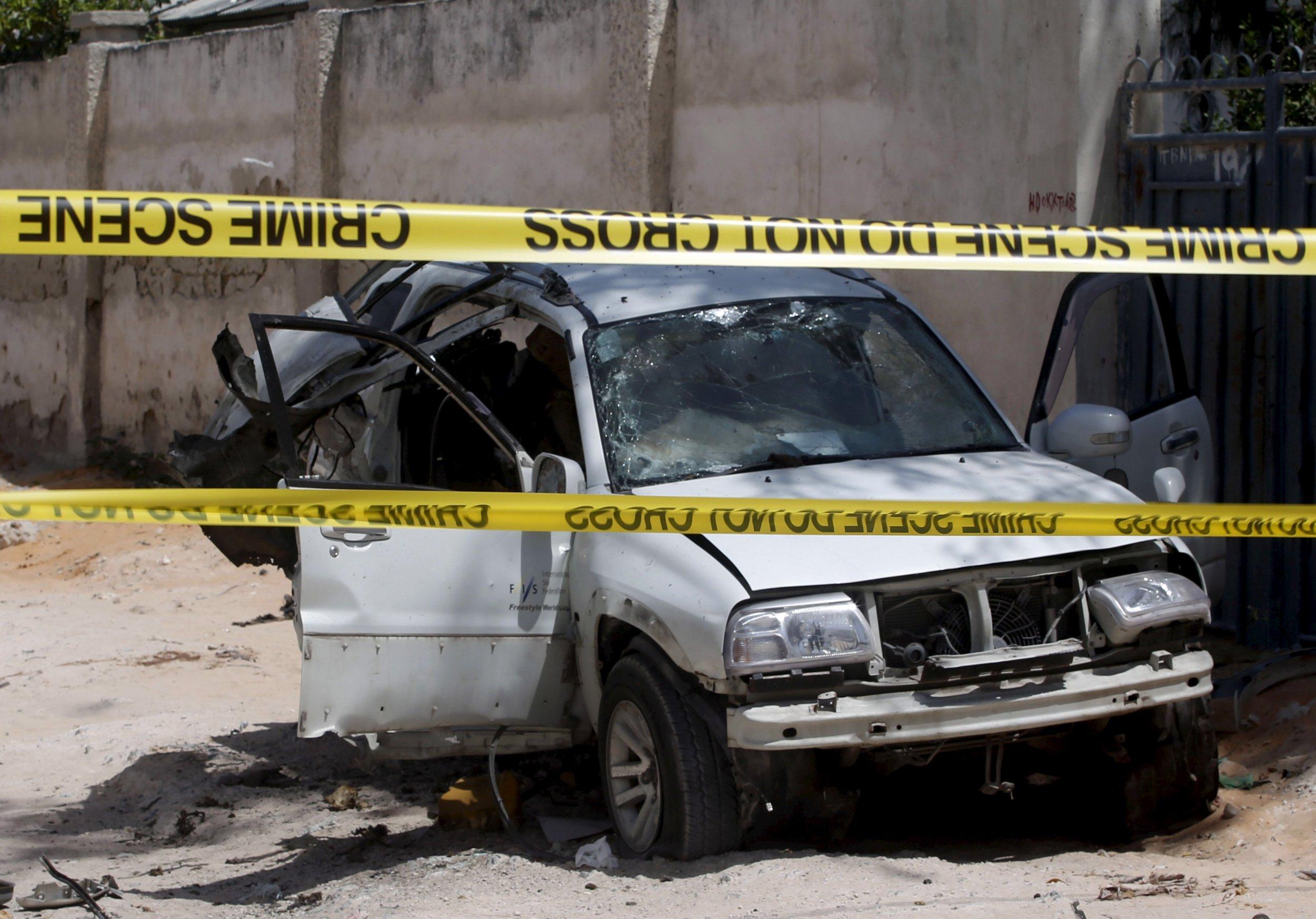 Car bomb blast in Mogadishu