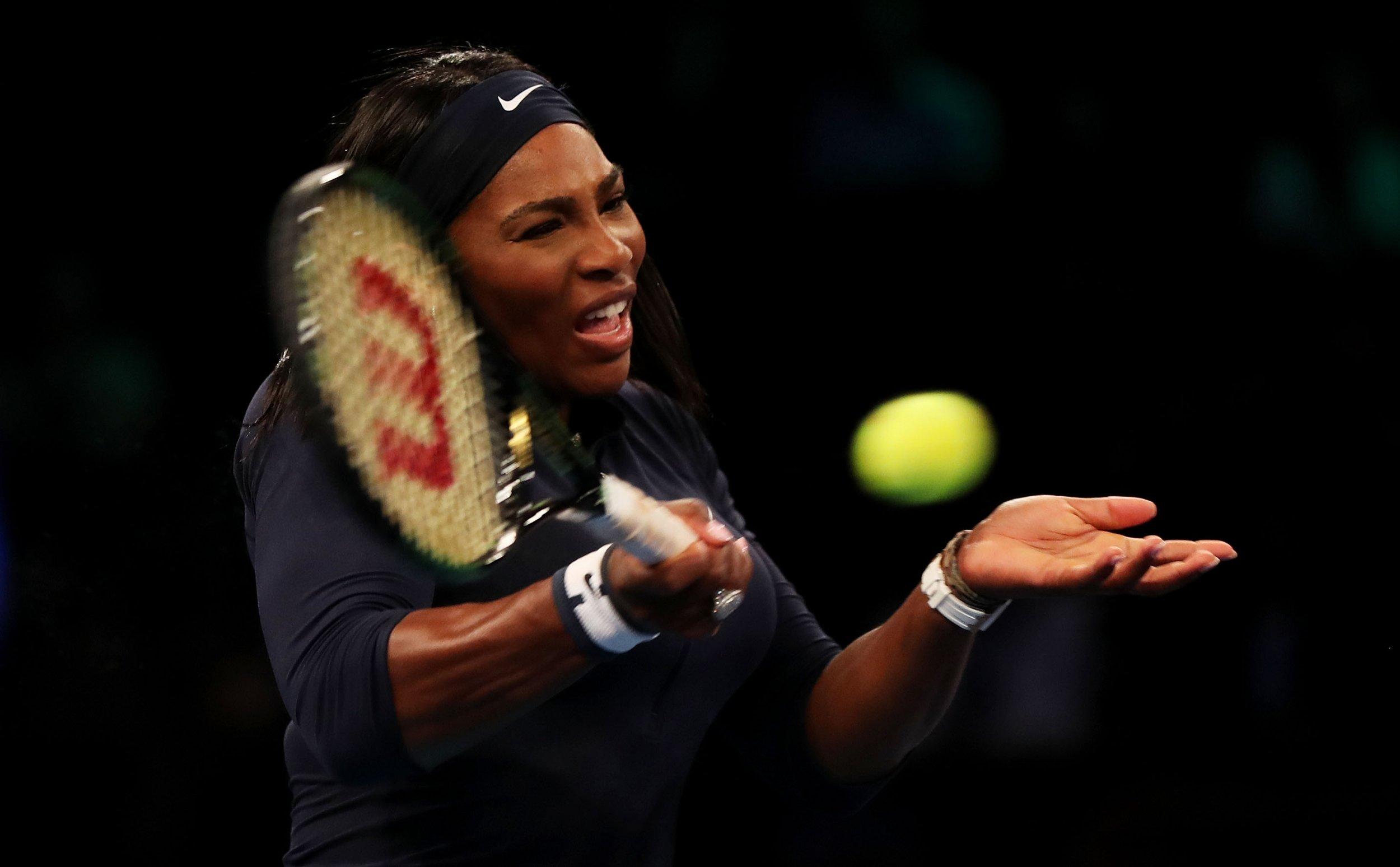 Serena Williams at Madison Square Garden, March 2016.