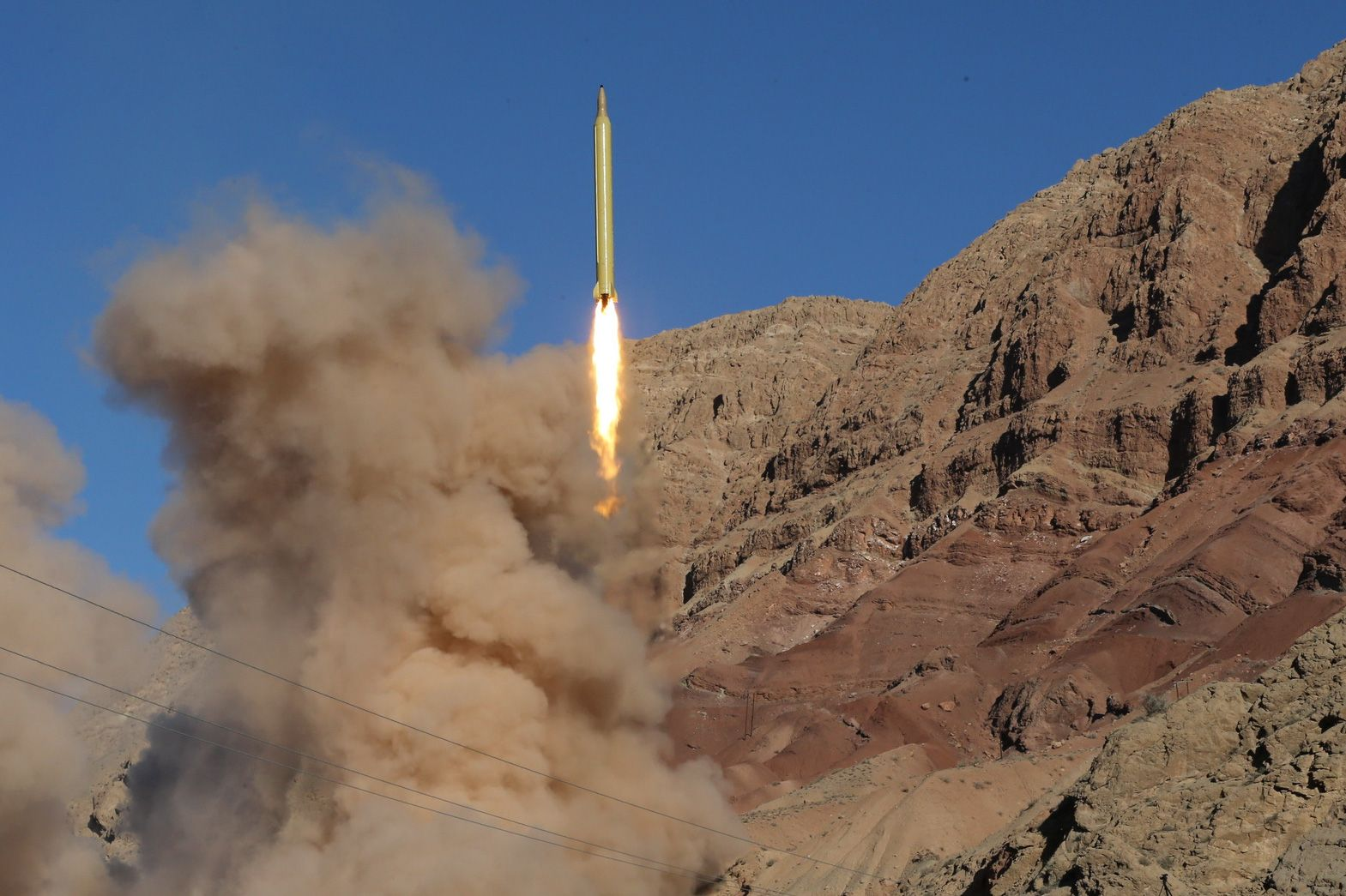 Iran Middle East Missiles