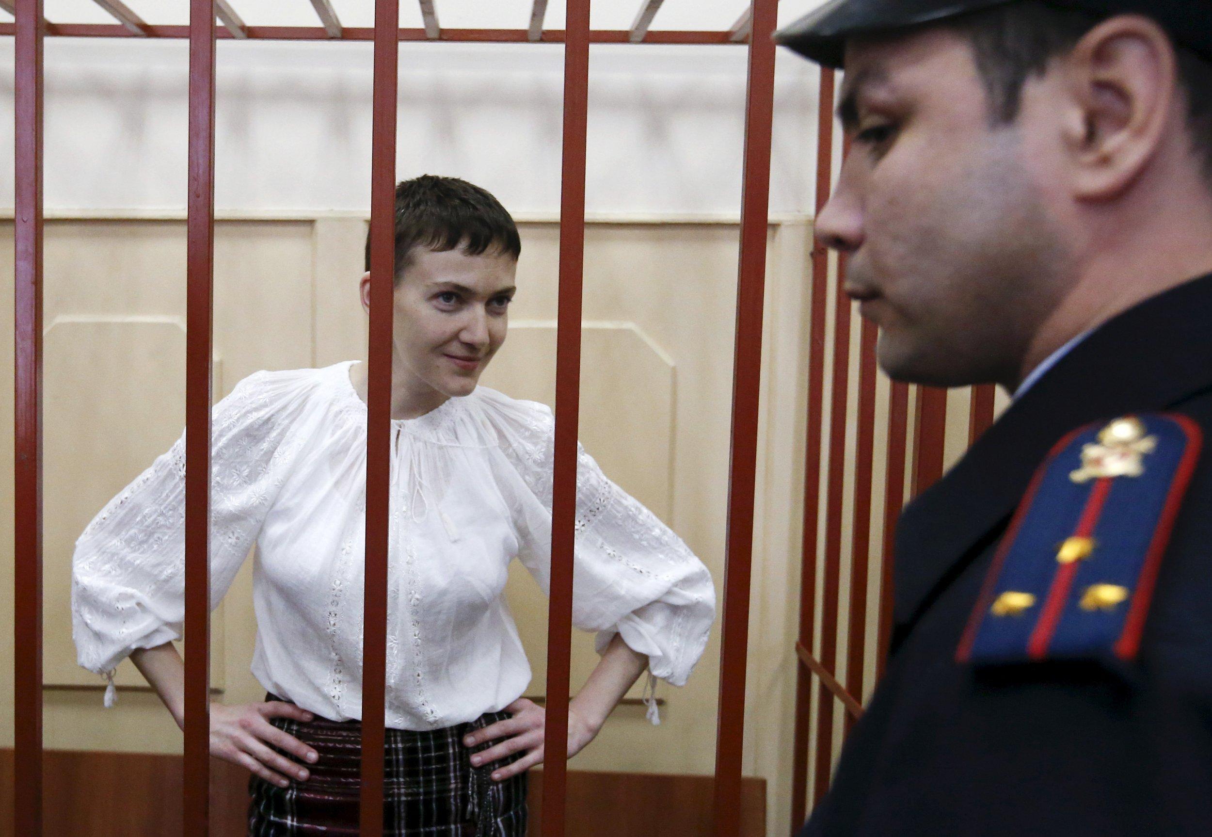 Nadiya Savchenko in court