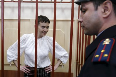 Nadiya Savchenko in court