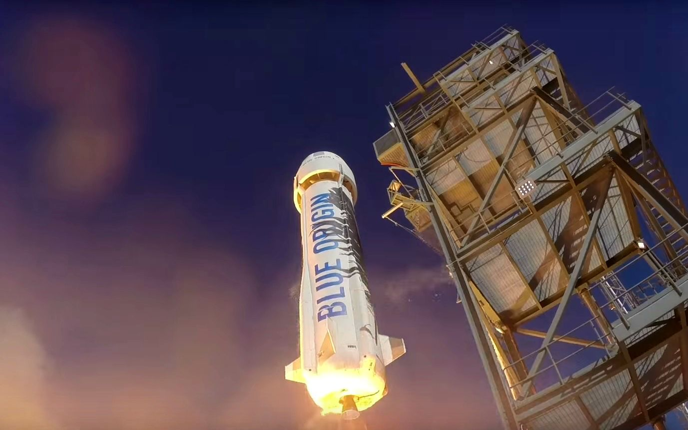 Space Tourism Lifting Off in 2018 with Jeff Bezos' Blue Origin