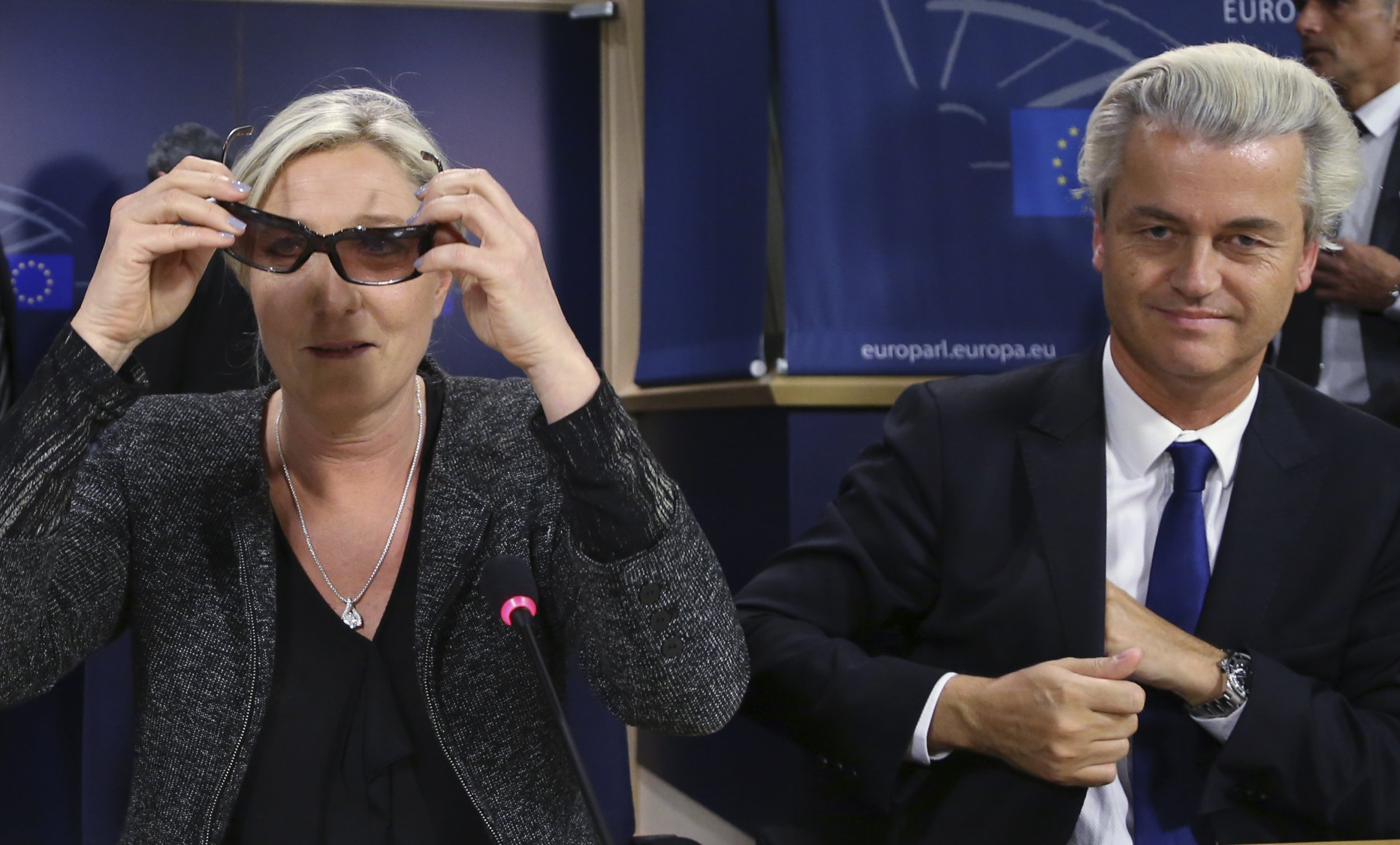 28/05/2014_Wilders and Le Pen