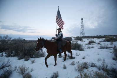 Oregon Occupiers Charged With Damage and Theft