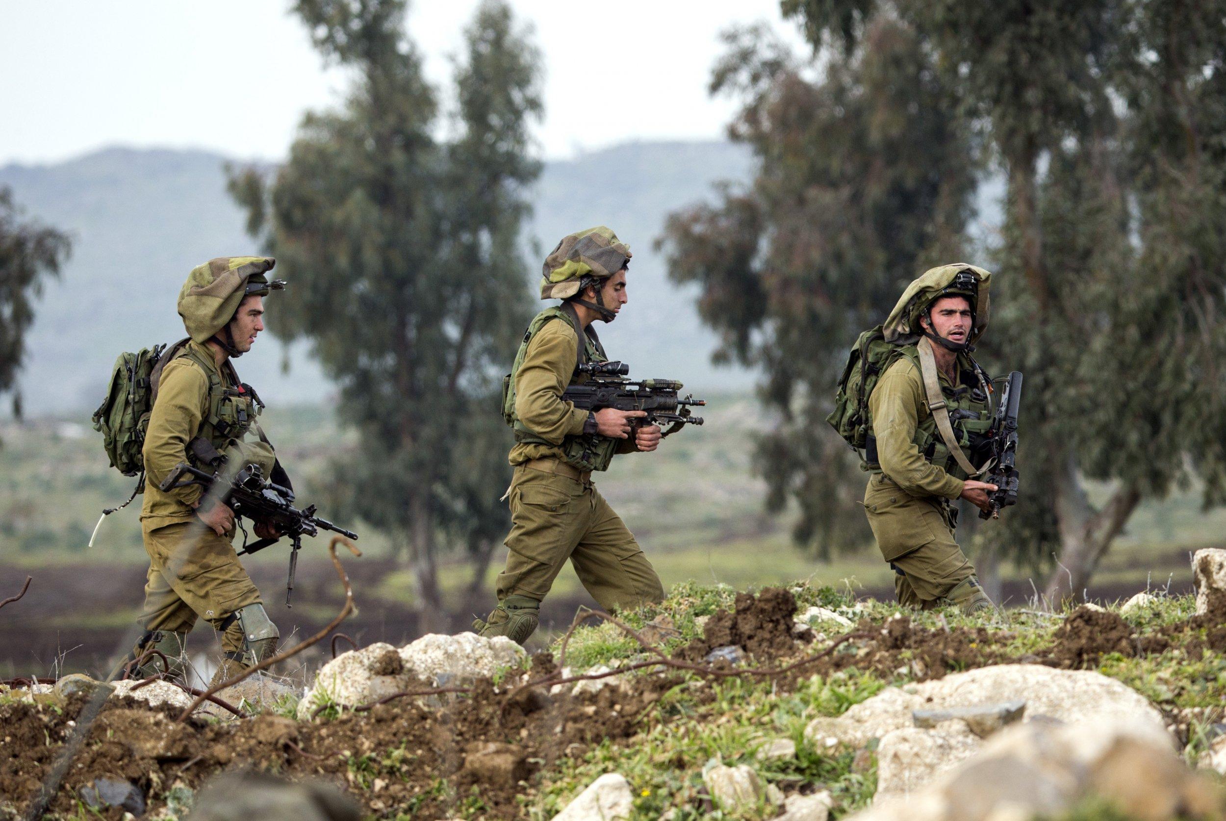 IDF Nuts Allergy Israel Middle East