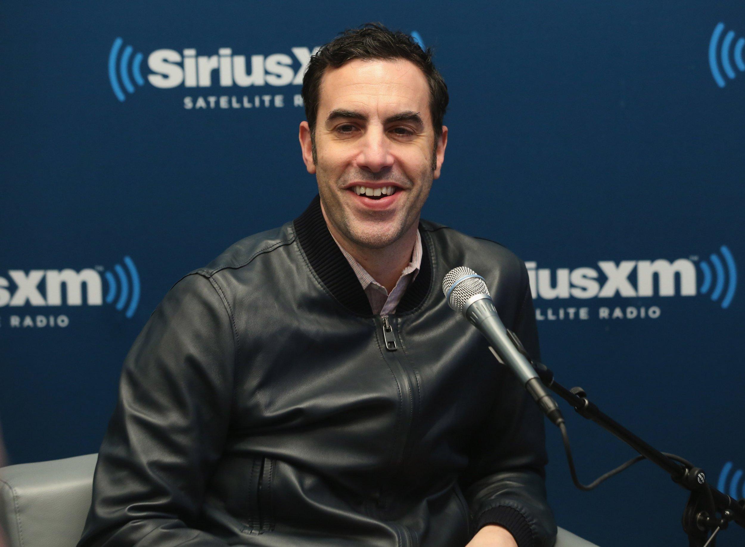 Sacha Baron Cohen radio appearance