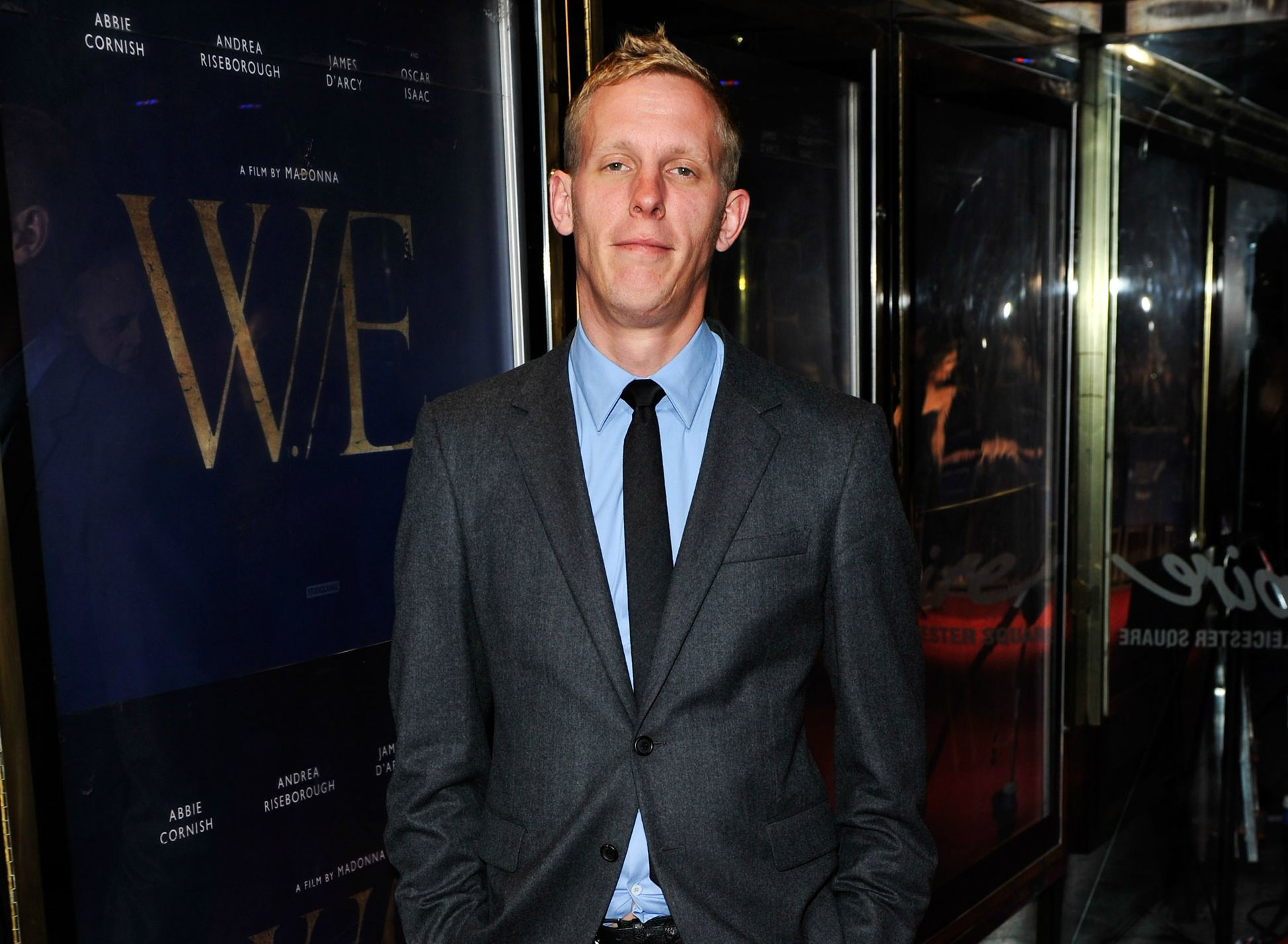 Actor Laurence Fox in London