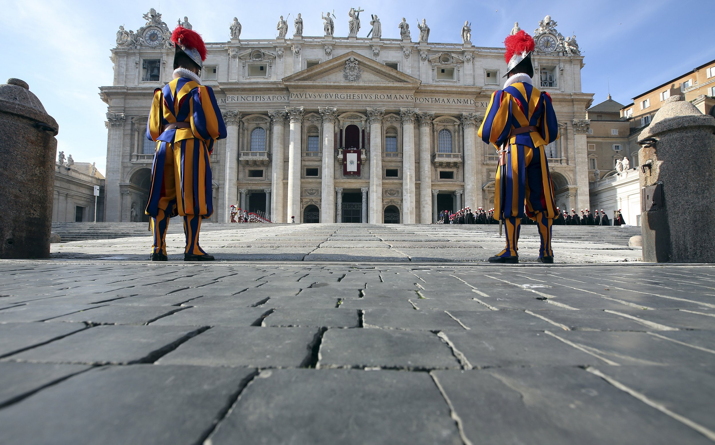 The Pope at the Vatican
