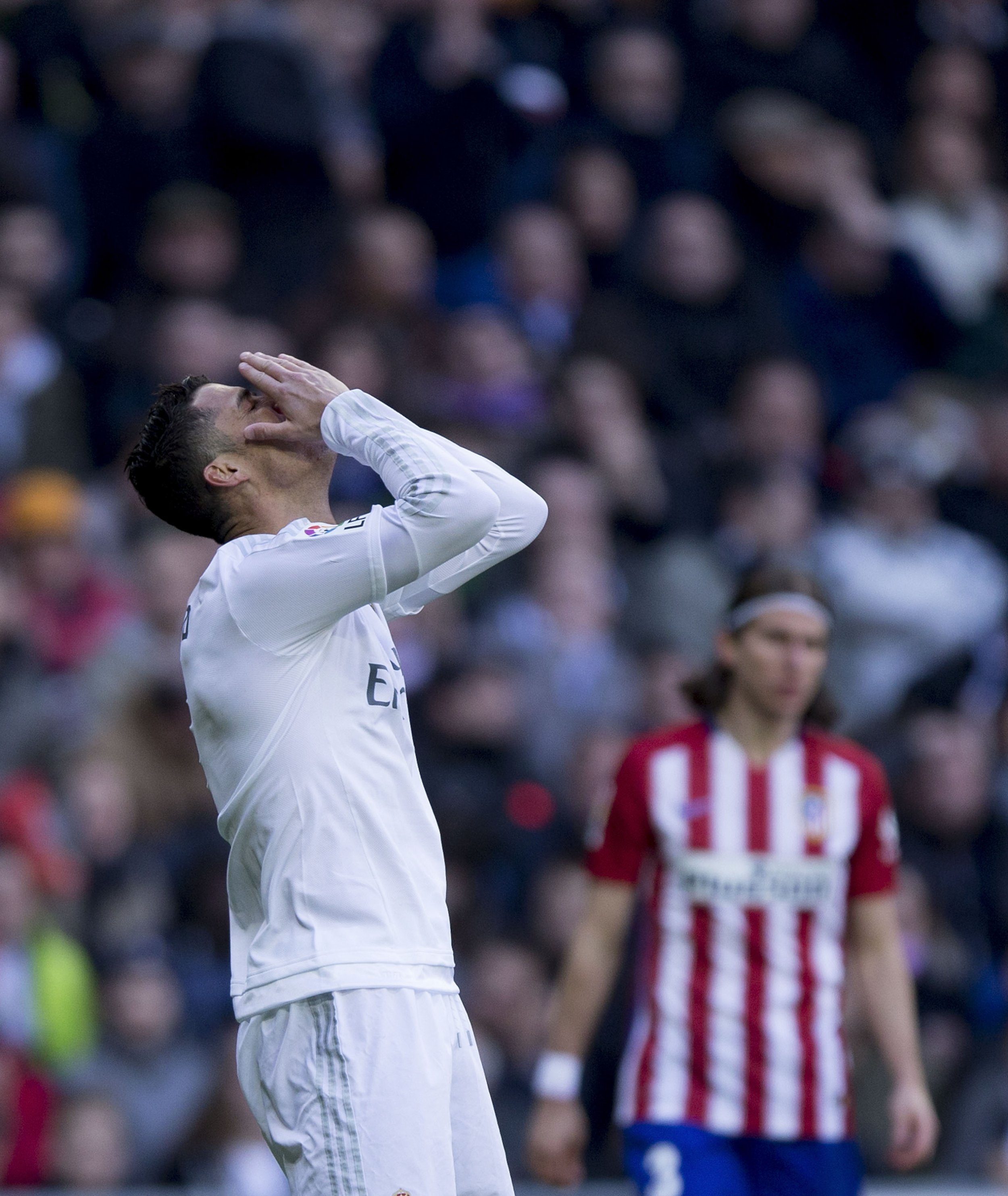 Cristiano Ronaldo's future at Real Madrid appears uncertain.