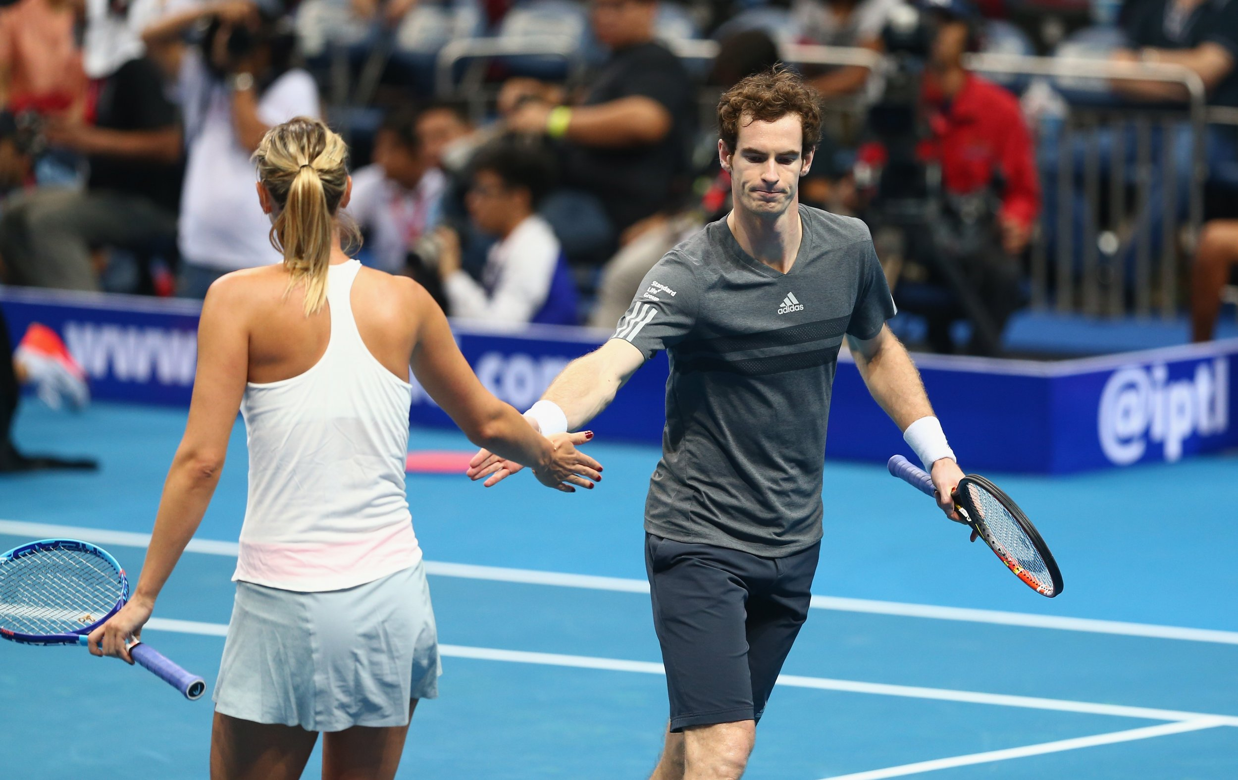 Andy Murray, right, has called for more drugs testing in tennis.