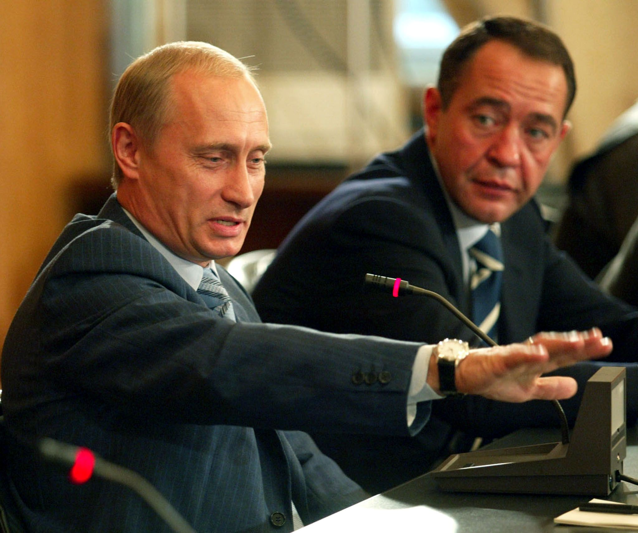 Putin and Lesin