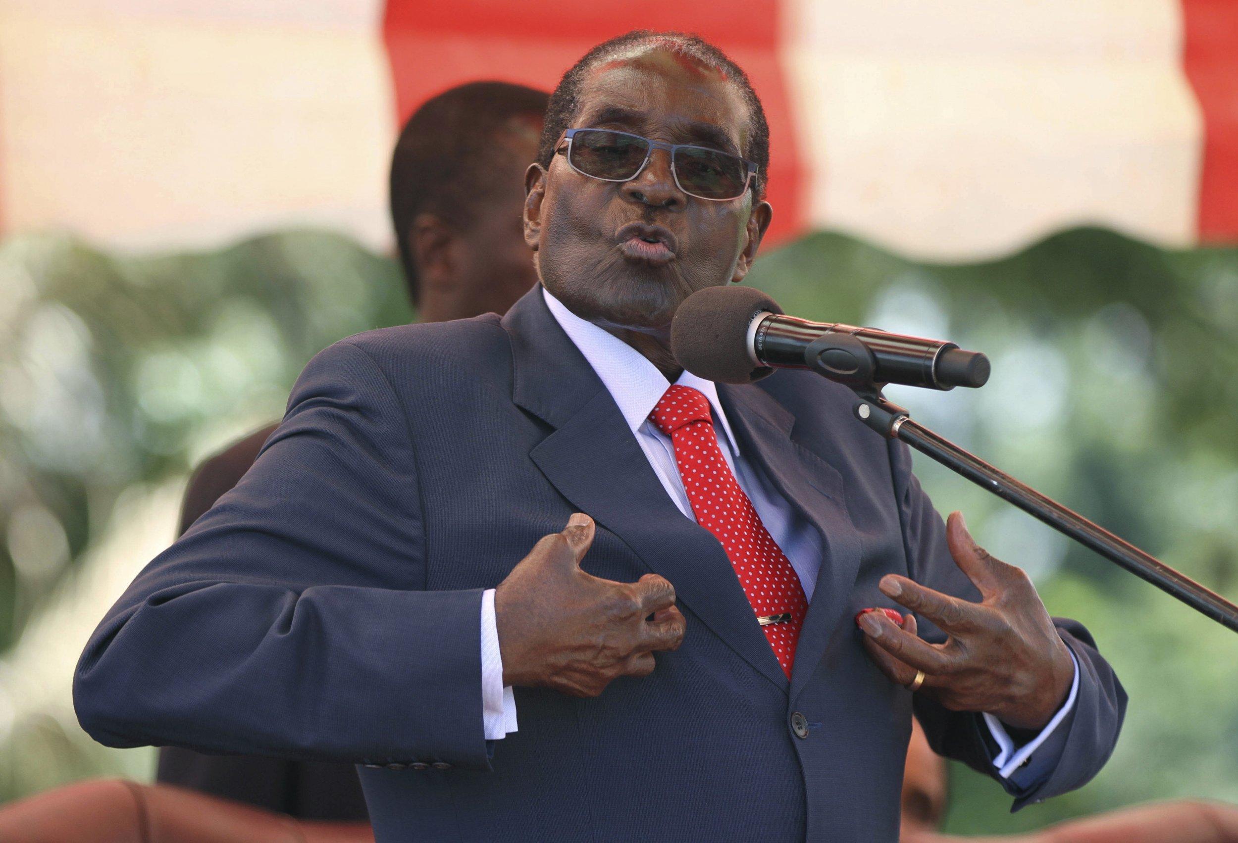 Billedresultat for Zimbabwe President Robert Mugabe