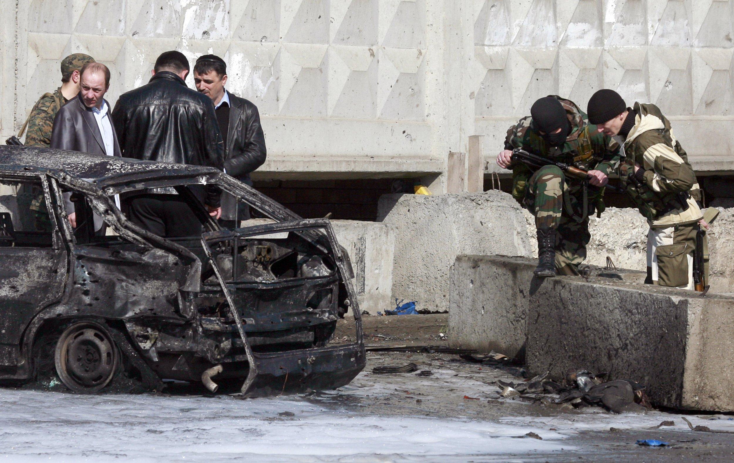 Ingushetia car bomb
