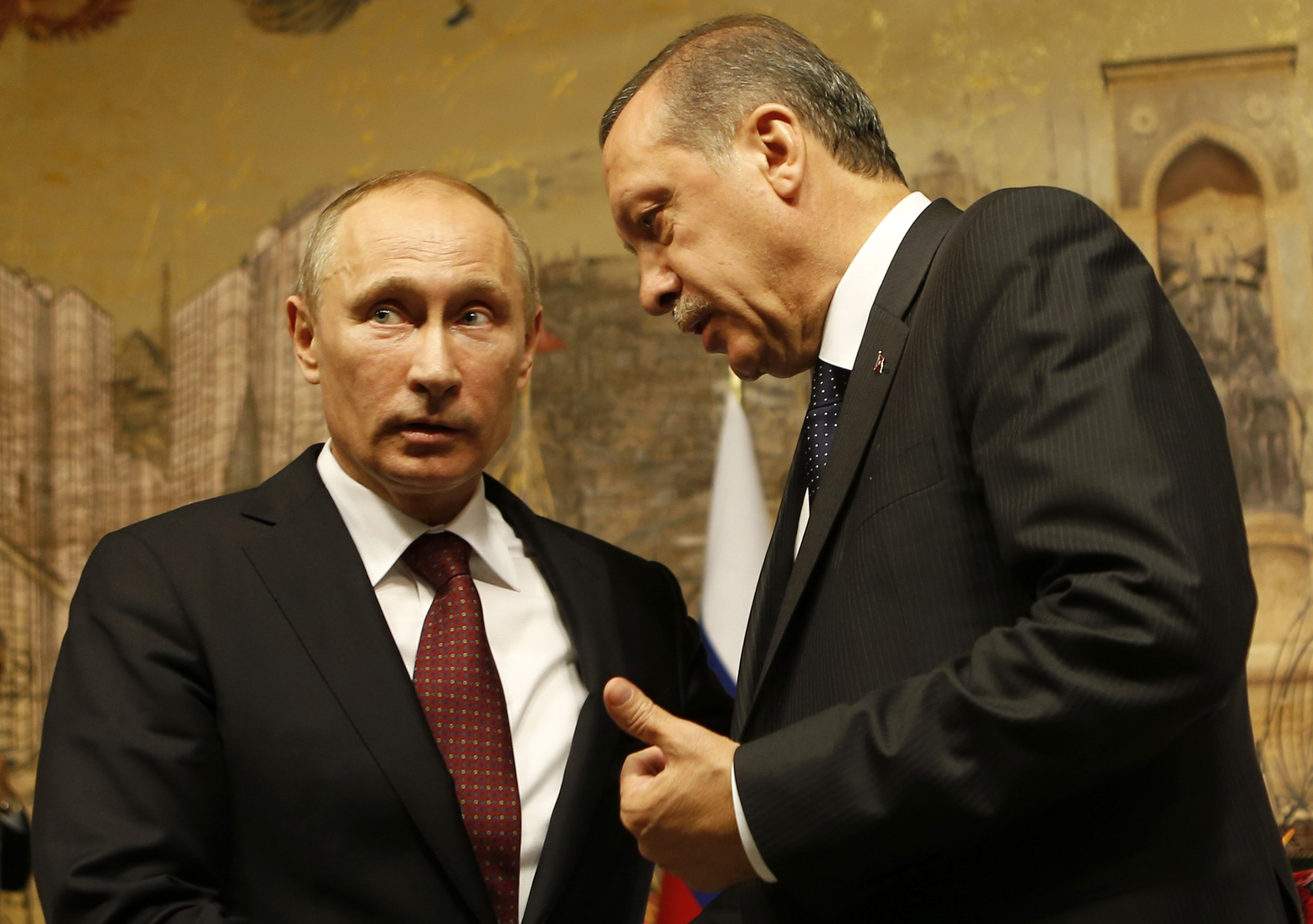 Putin and Erdogan speak in Istanbul
