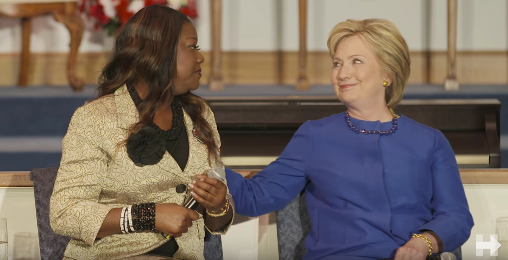 3-11-16 Mothers of the Movement Clinton