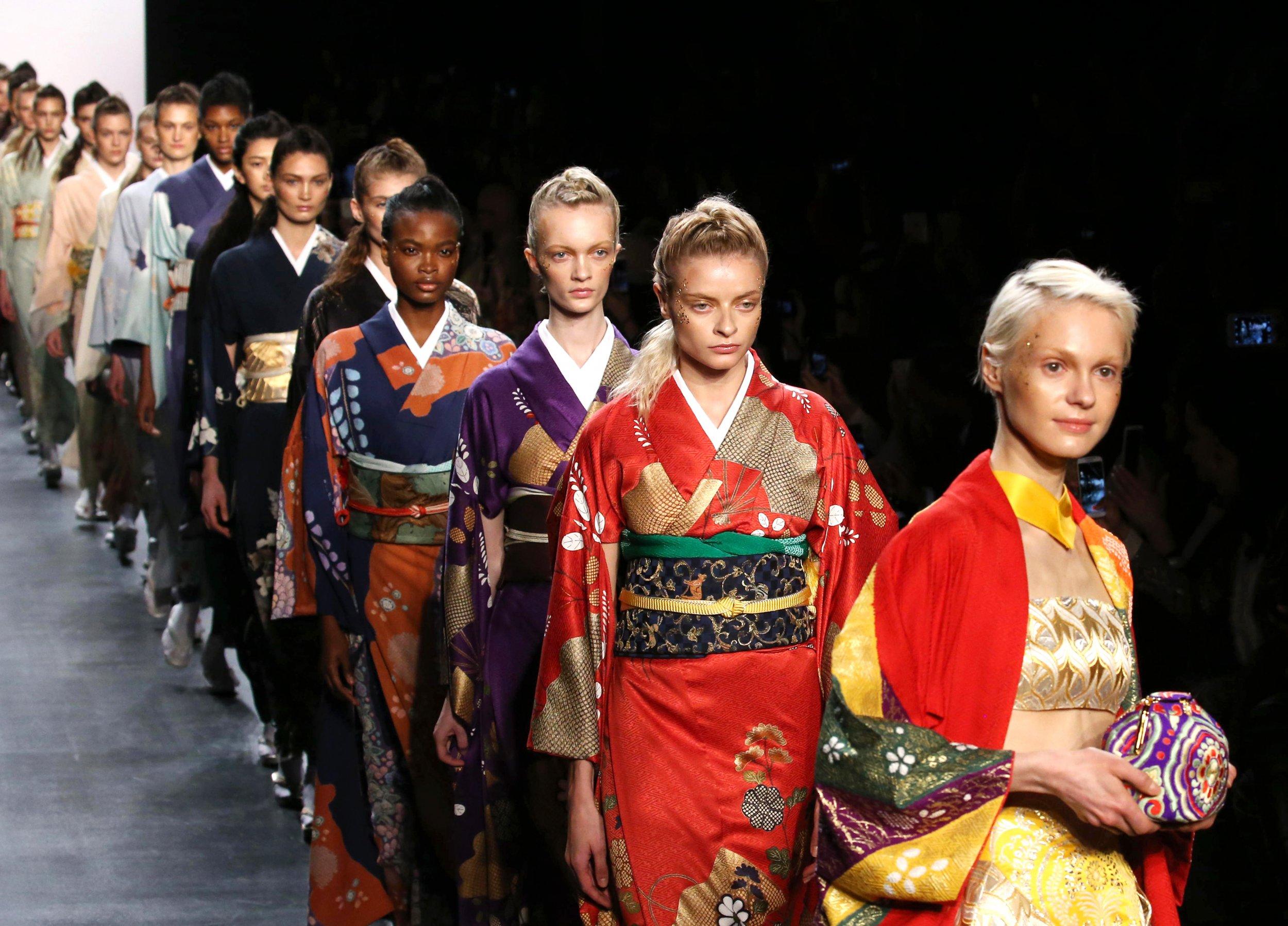 can high fashion save the kimono