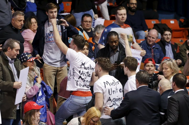Protesters Force Cancelation of Donald Trump Rally