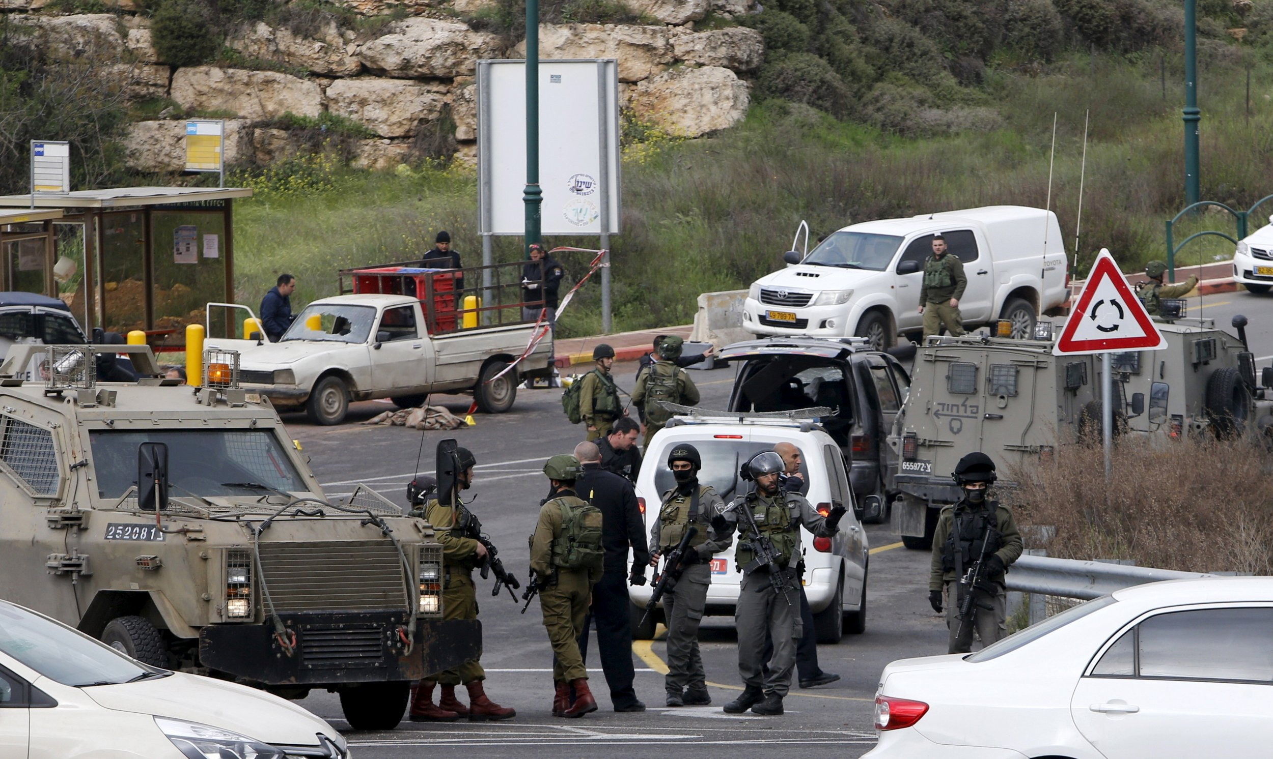 Israel West Bank Shooting Car-Ramming Stabbing