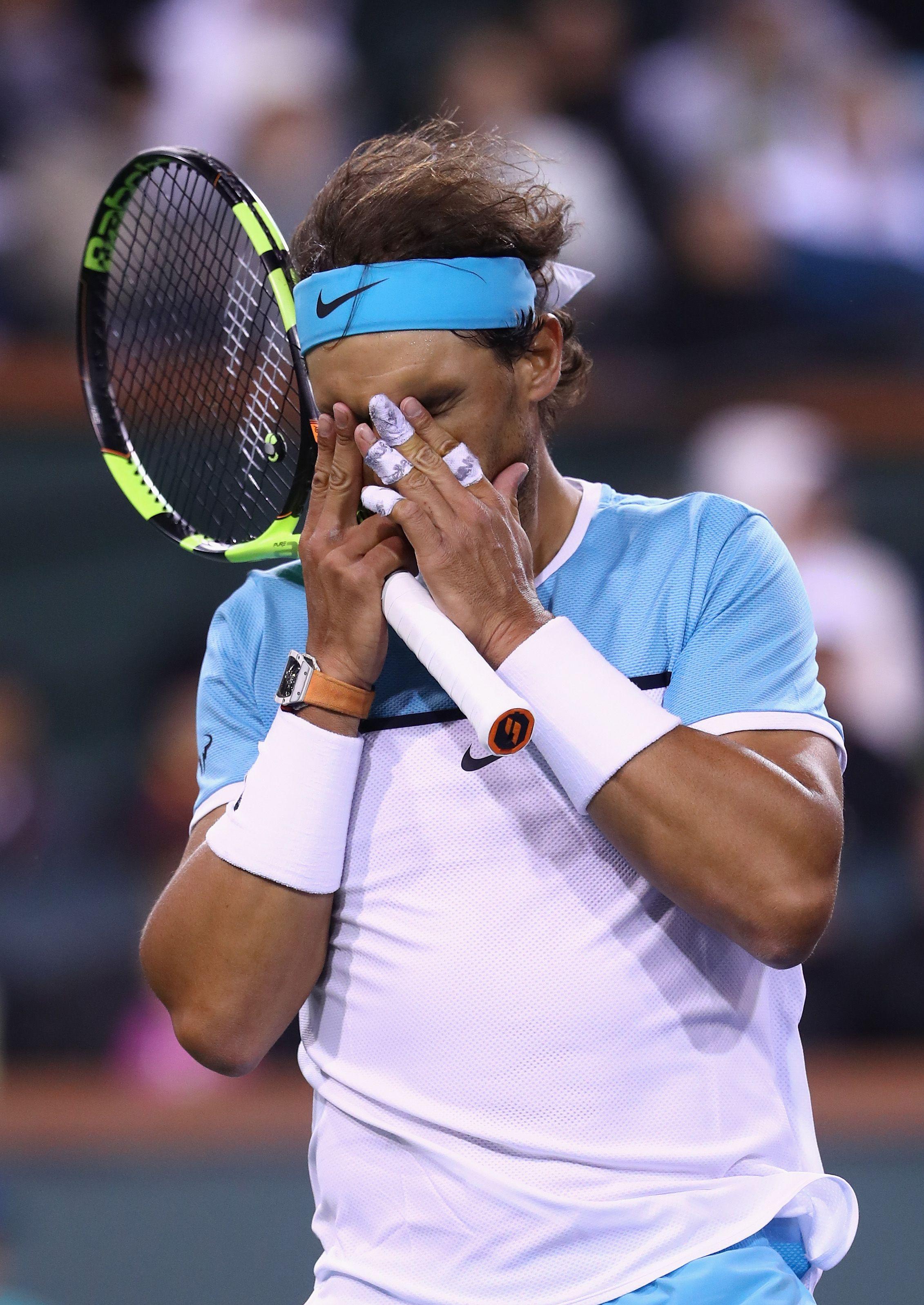Rafael Nadal has won 14 Grand Slams in his career.