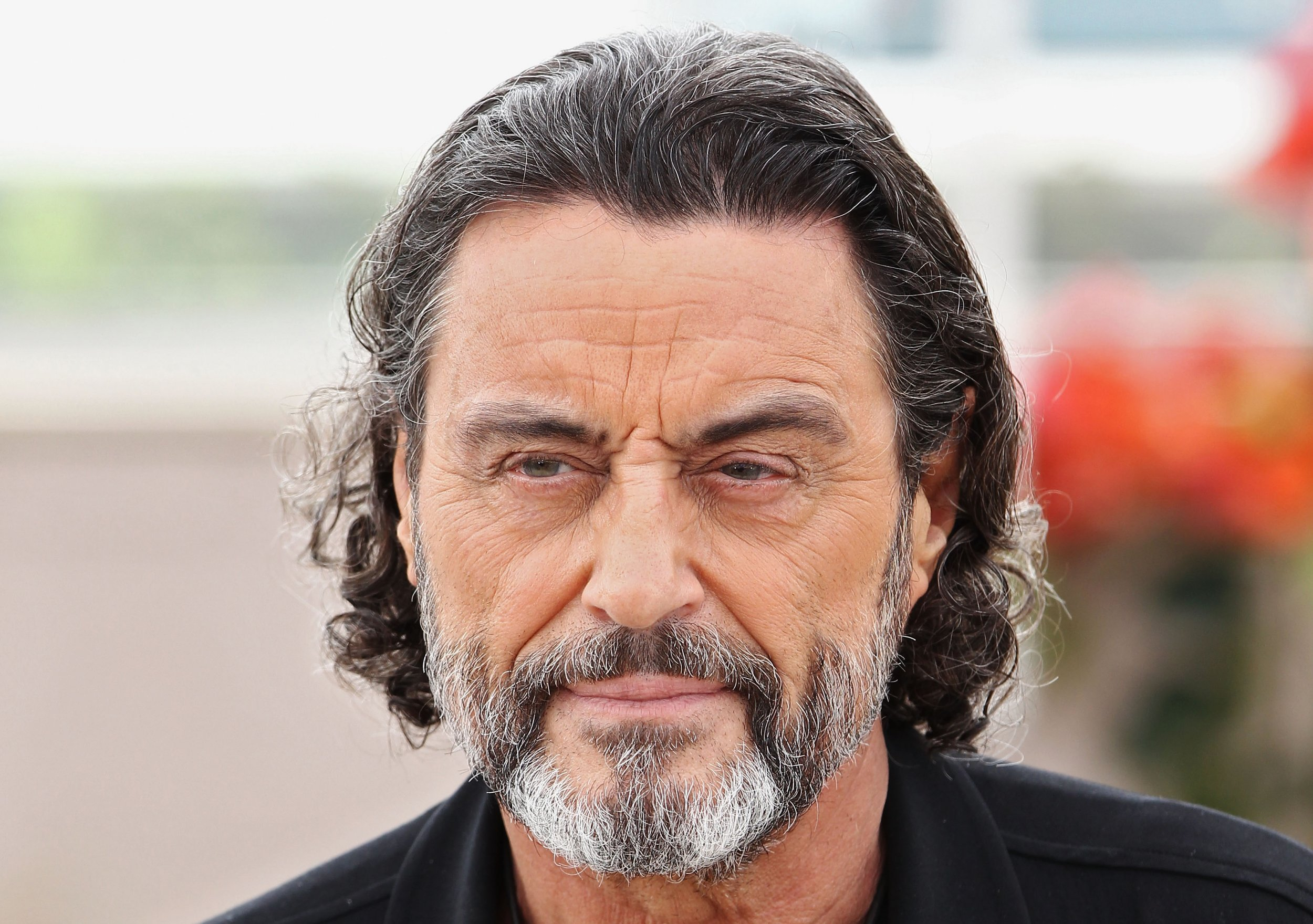Ian McShane at Cannes in 2011