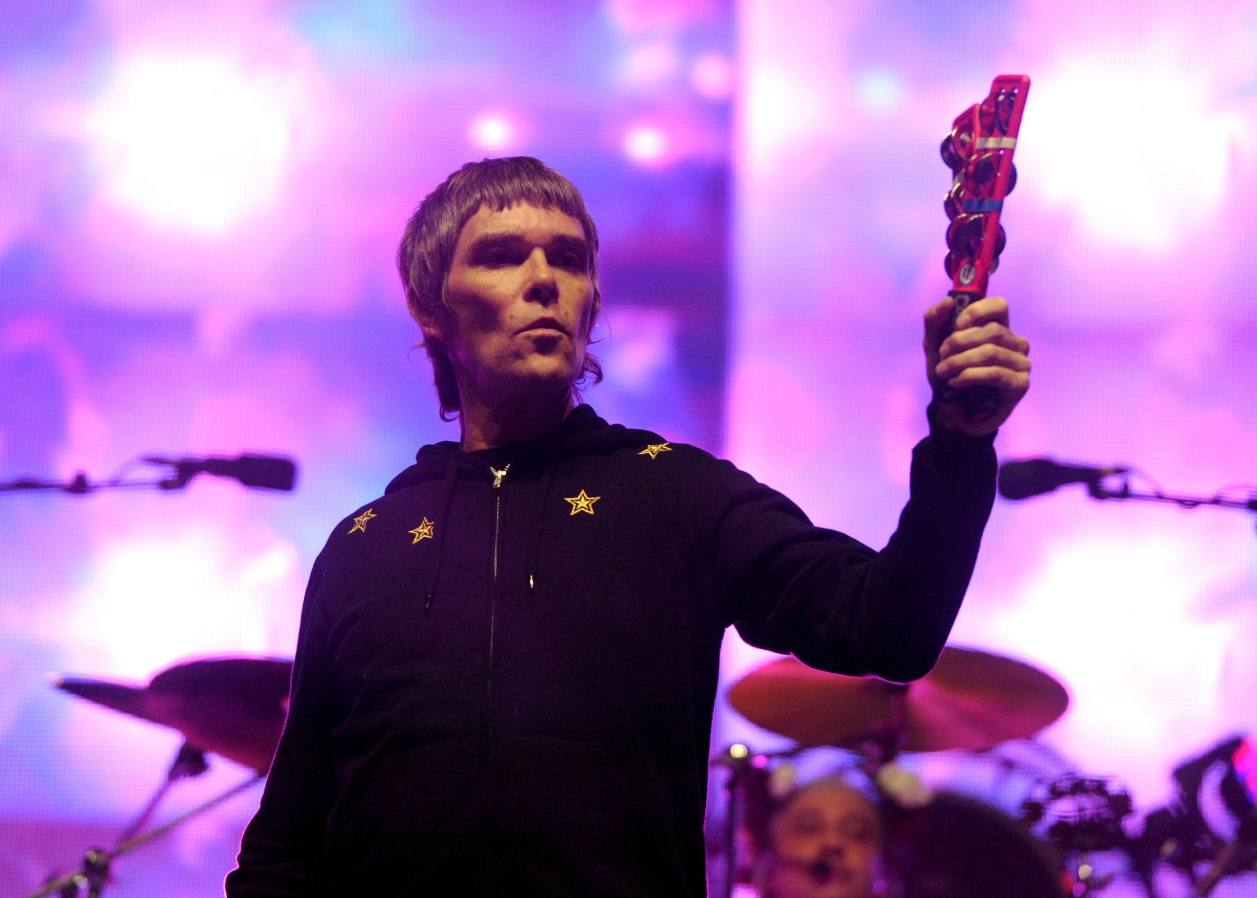 Stone Roses frontman Ian Brown at Coachella