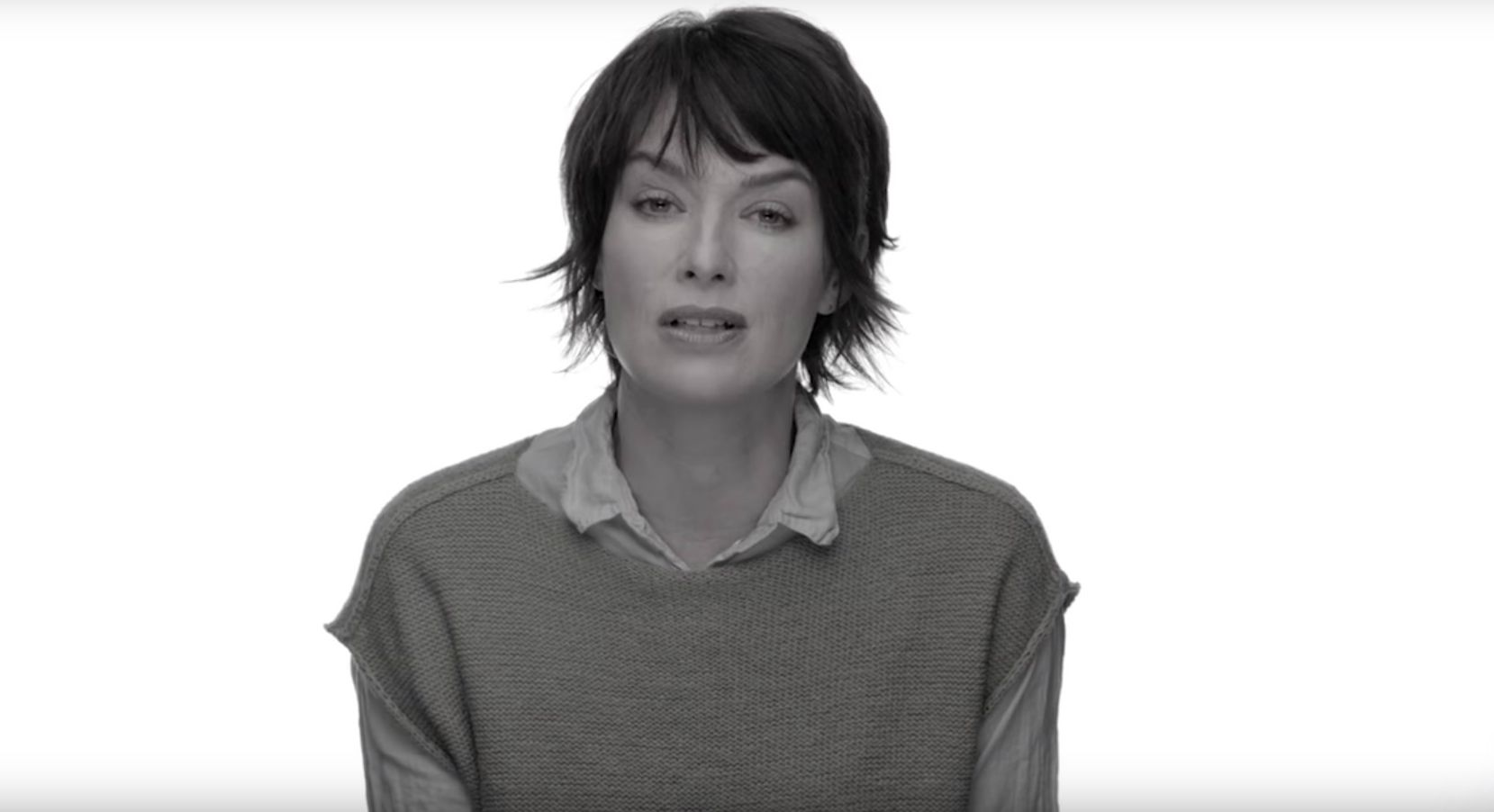 Lena Headey in Game of Thrones refugee campaign
