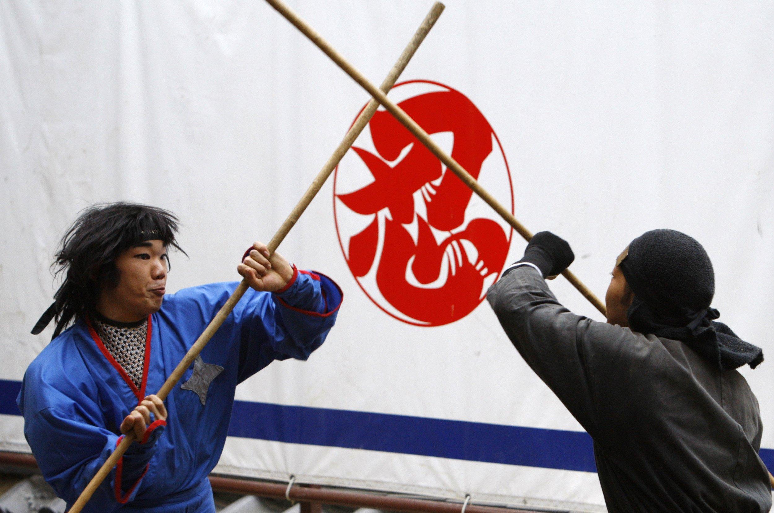 Japan hires six full time ninjas.