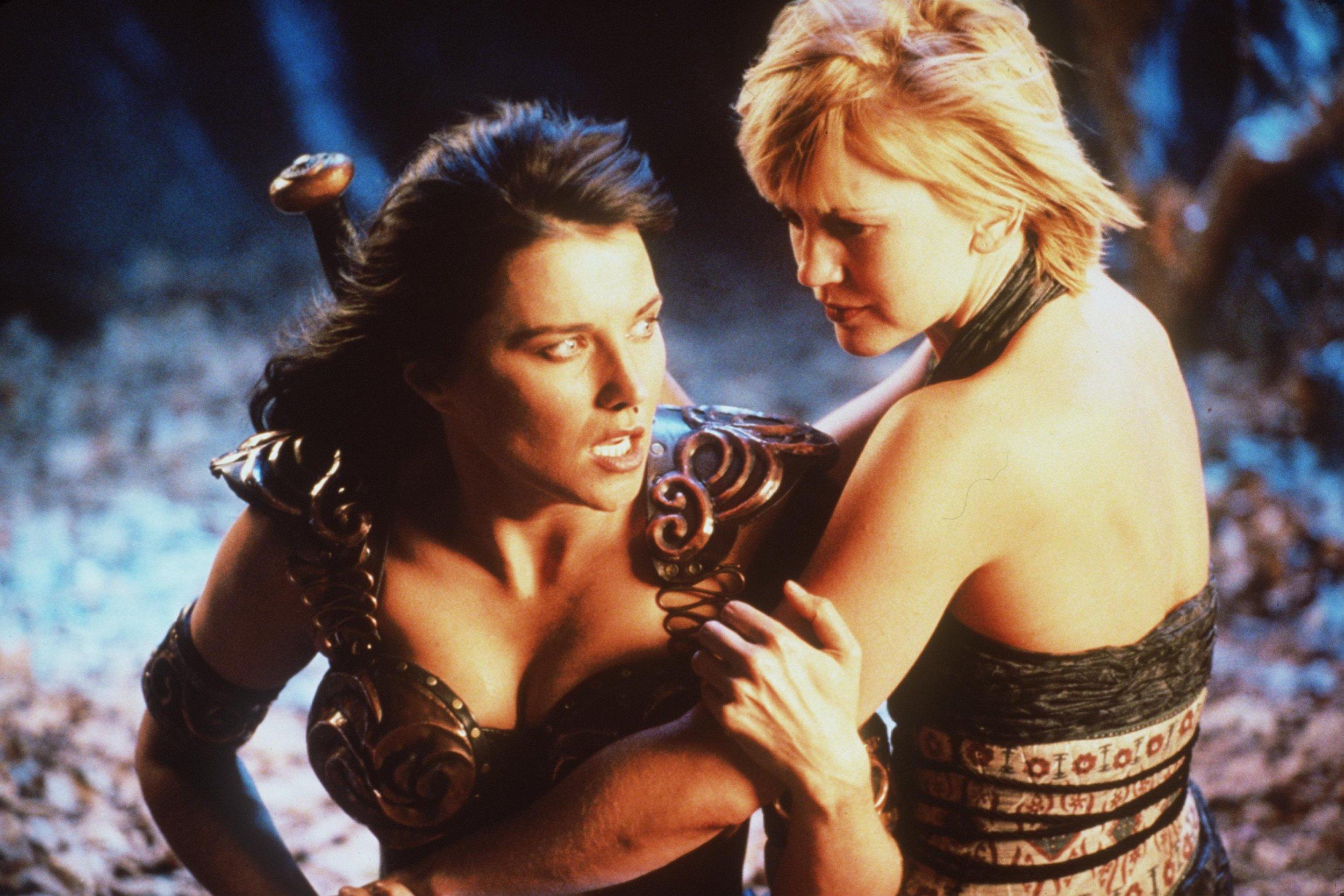 Xena: Warrior Princess - Xena and Gabrielle