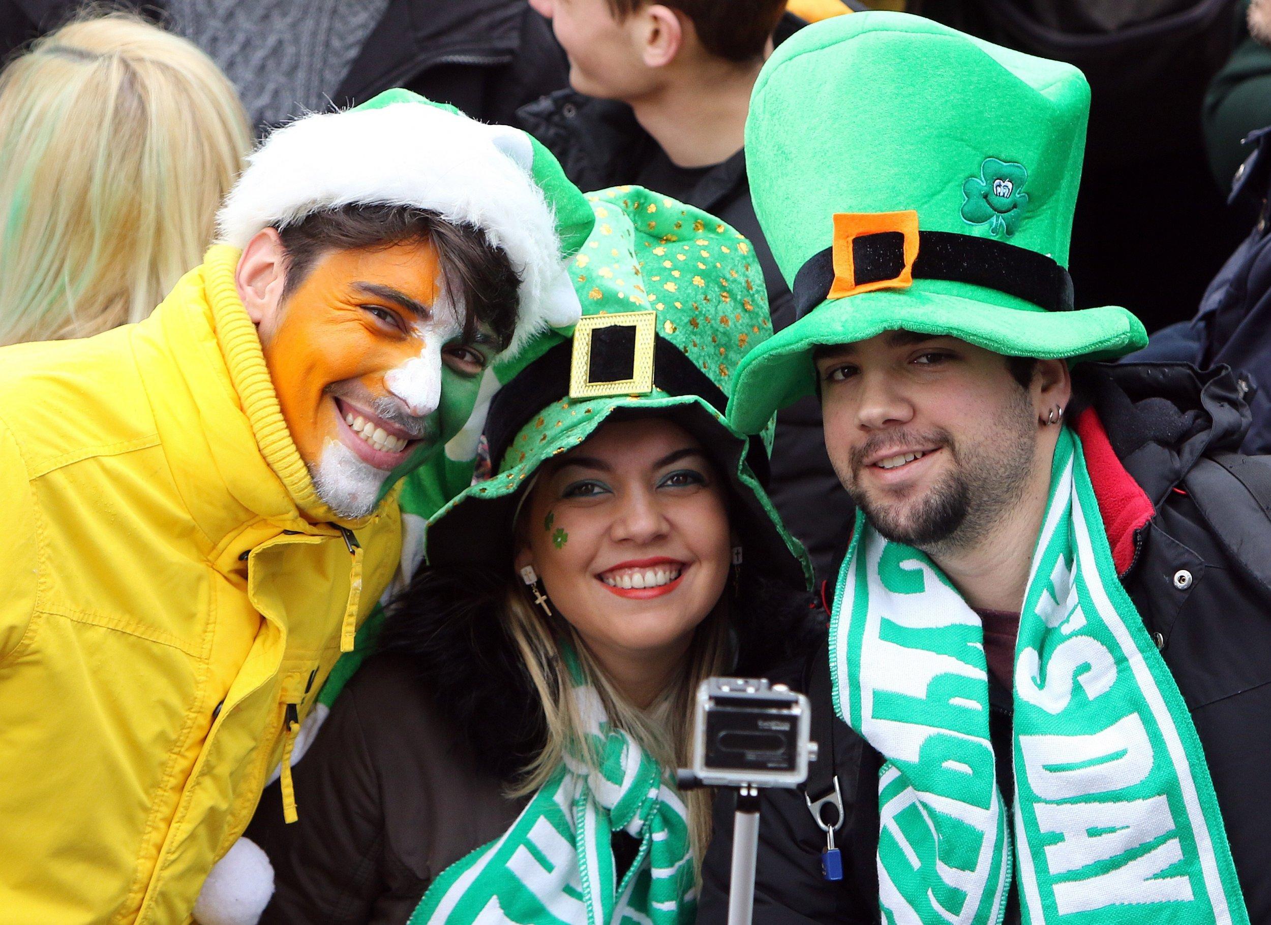 St Patrick's Day parade 2015 in Dublin