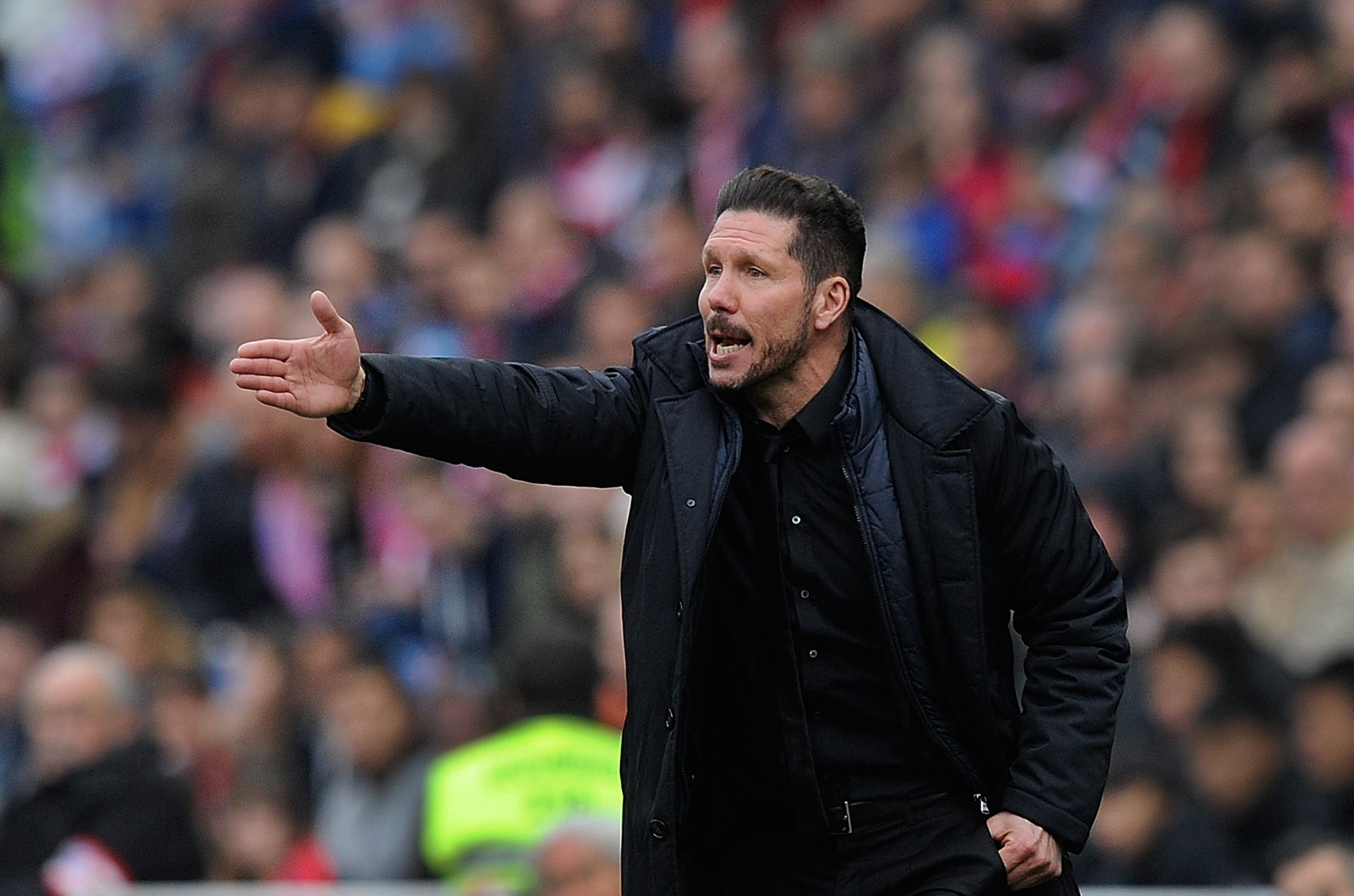 Diego Simeone took Atletico Madrid to within seconds of the UEFA Champions League in 2014.