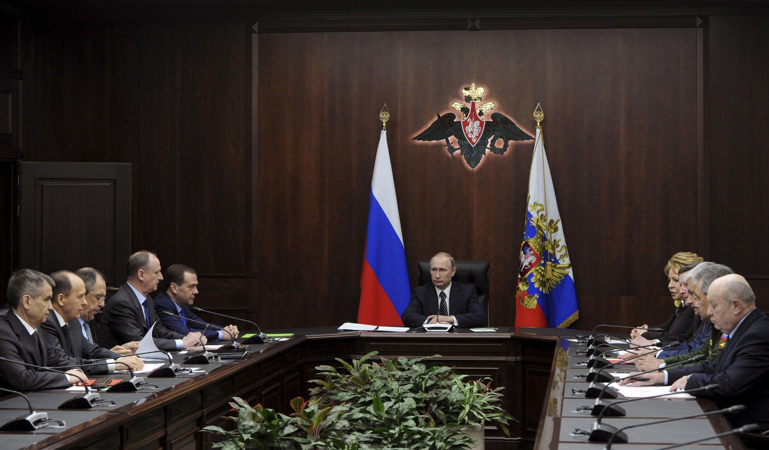 Putin Security Council Syria