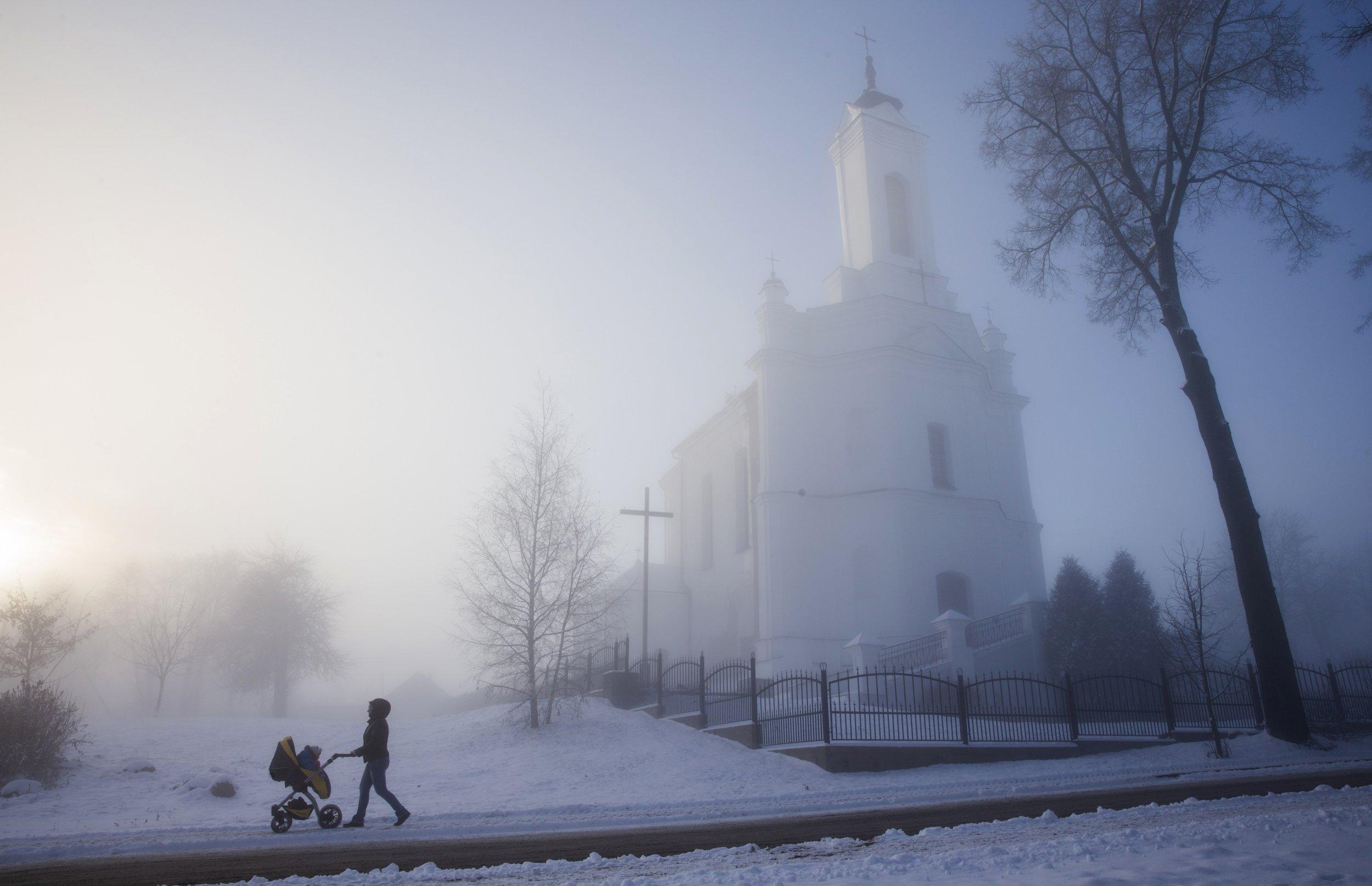 Belarusian Church outside Minsk