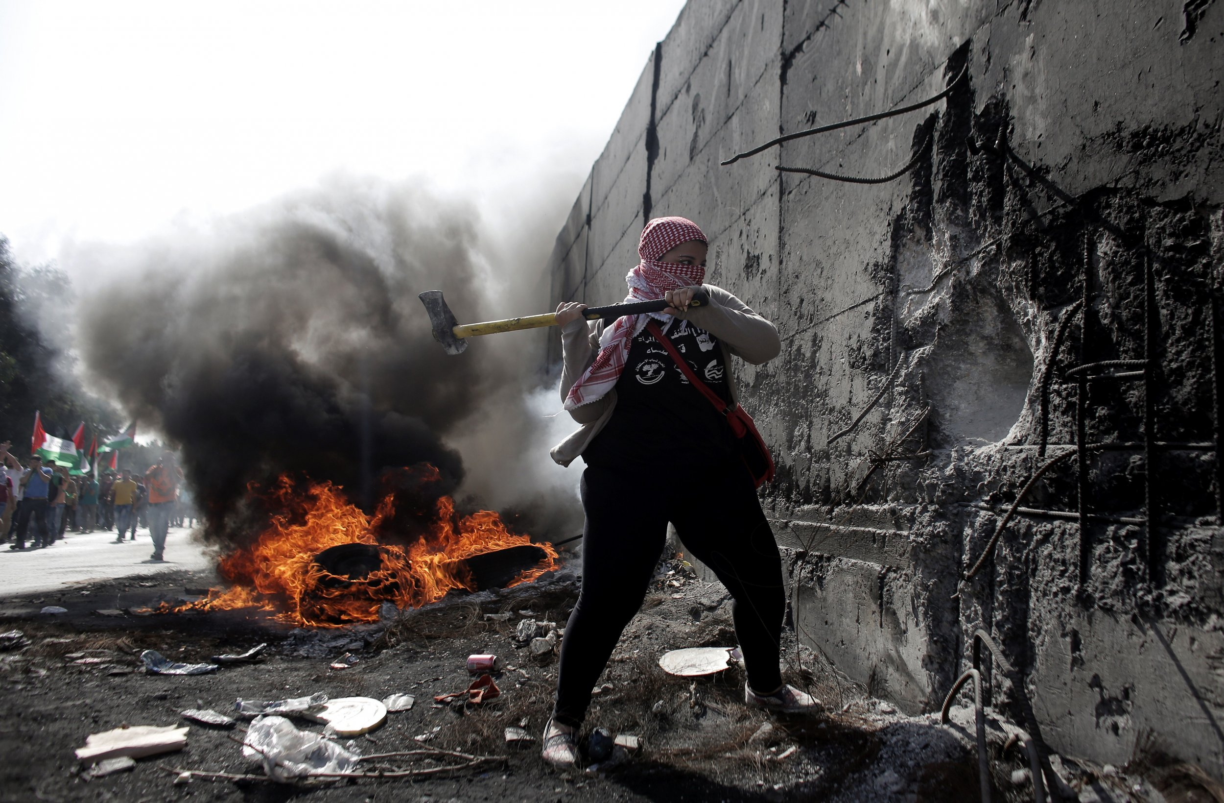 Israel Palestinians Middle East West Bank Clashes Stabbings