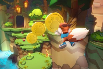 Lucky's Tale tries to take Mario well beyond 3-D