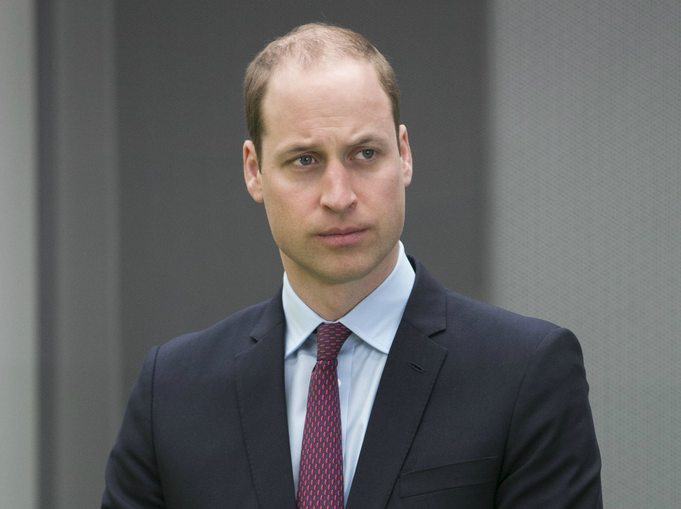 Prince William visits London Gateway