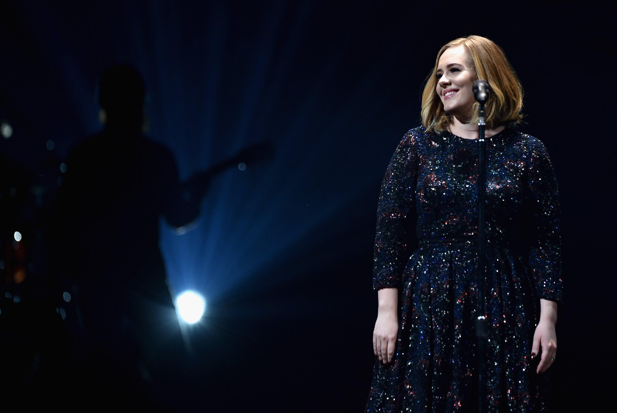 Adele world tour in Belfast