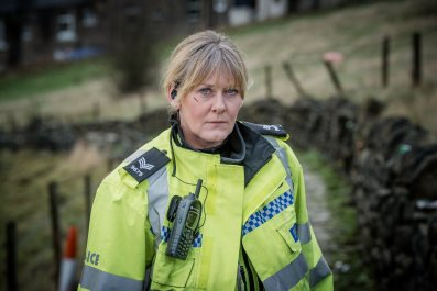 Sarah Lancashire in BBC show Happy Valley