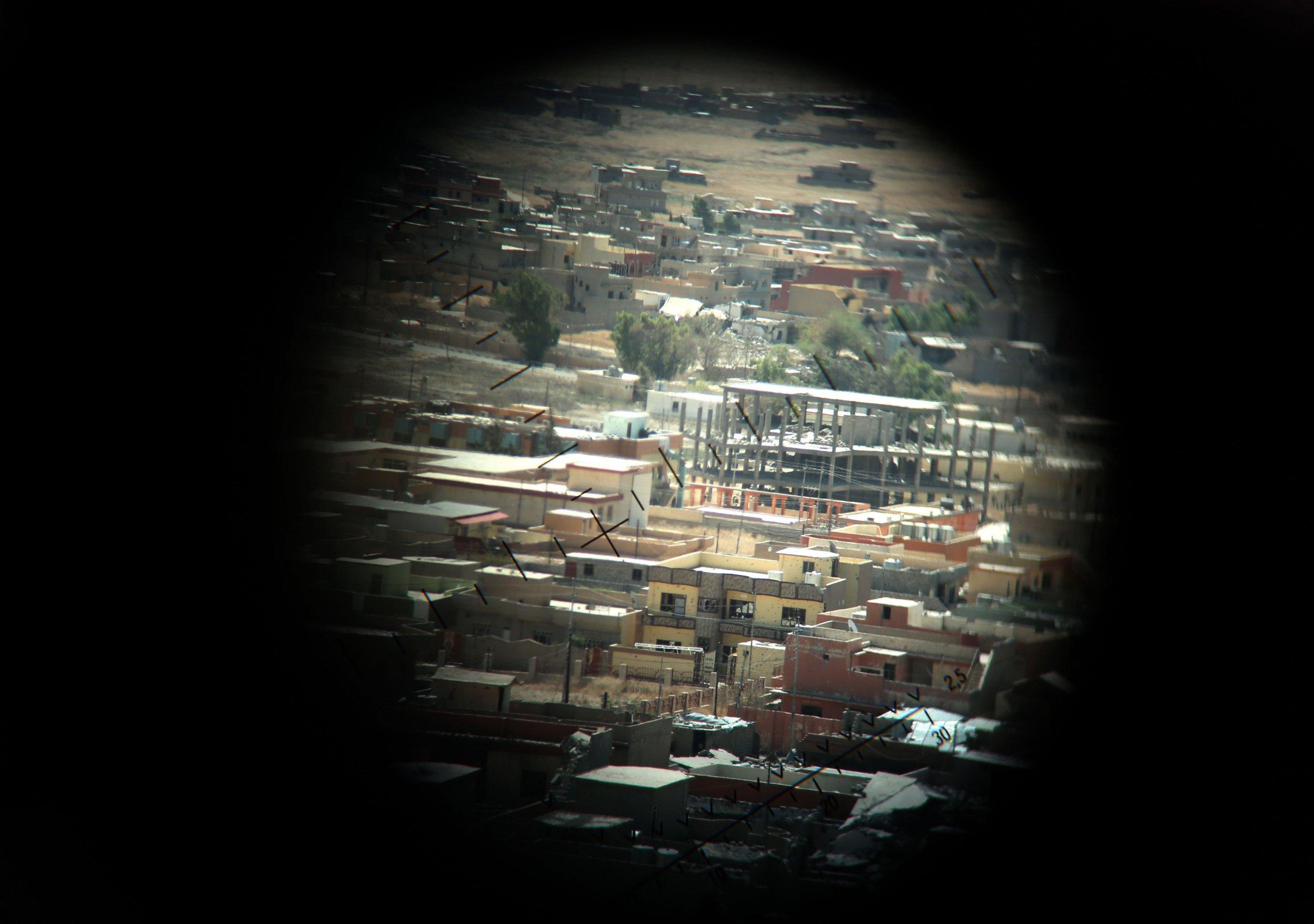 Mosul Iraq US Coalition Kurds Peshmerga