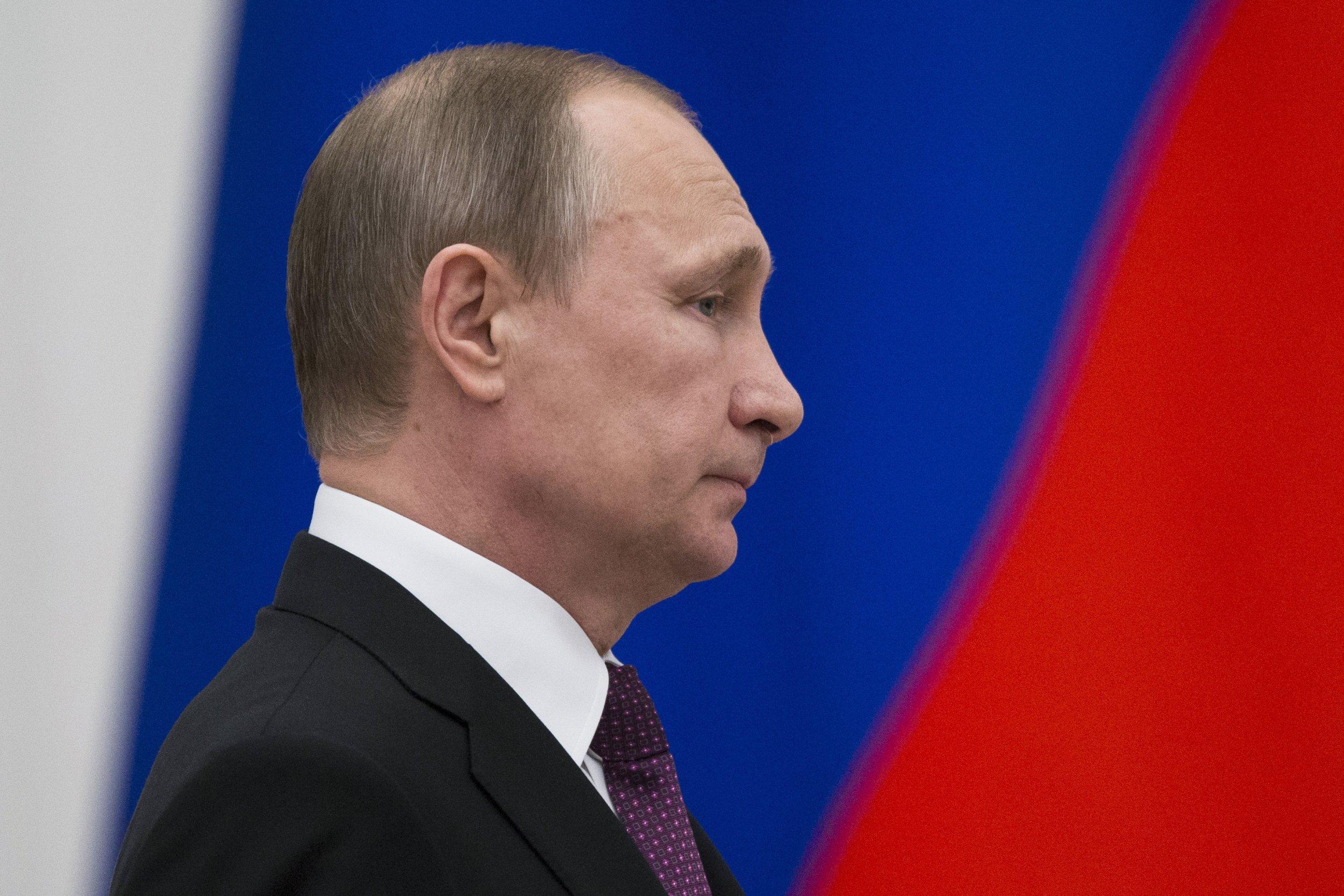Putin in profile