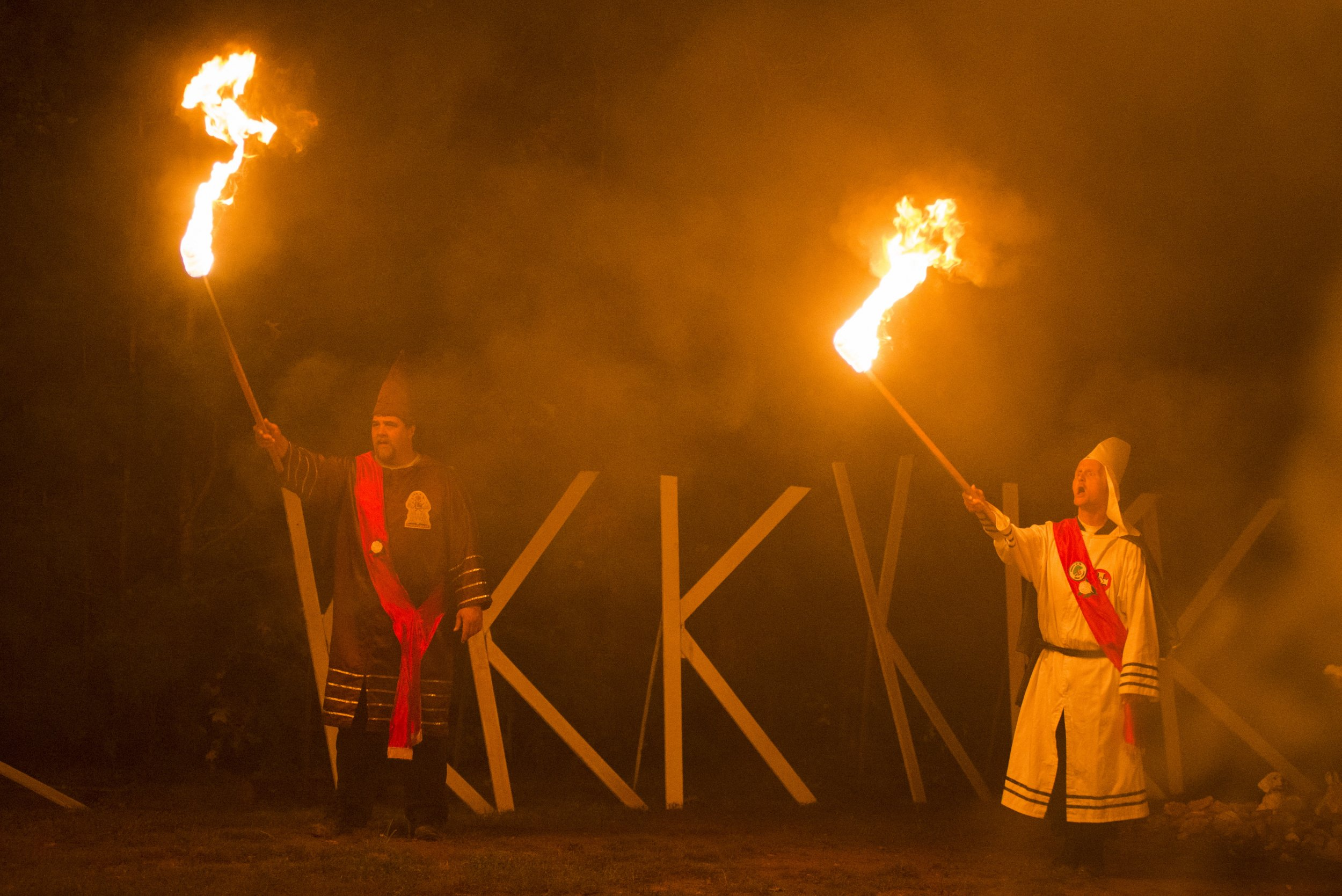 the kkk fear behind hate As the liberal virginia city attempts to 'tell the truth about race in our history', the ku klux klan, counter-protesters and confederate loyalists clash over what that means to them.