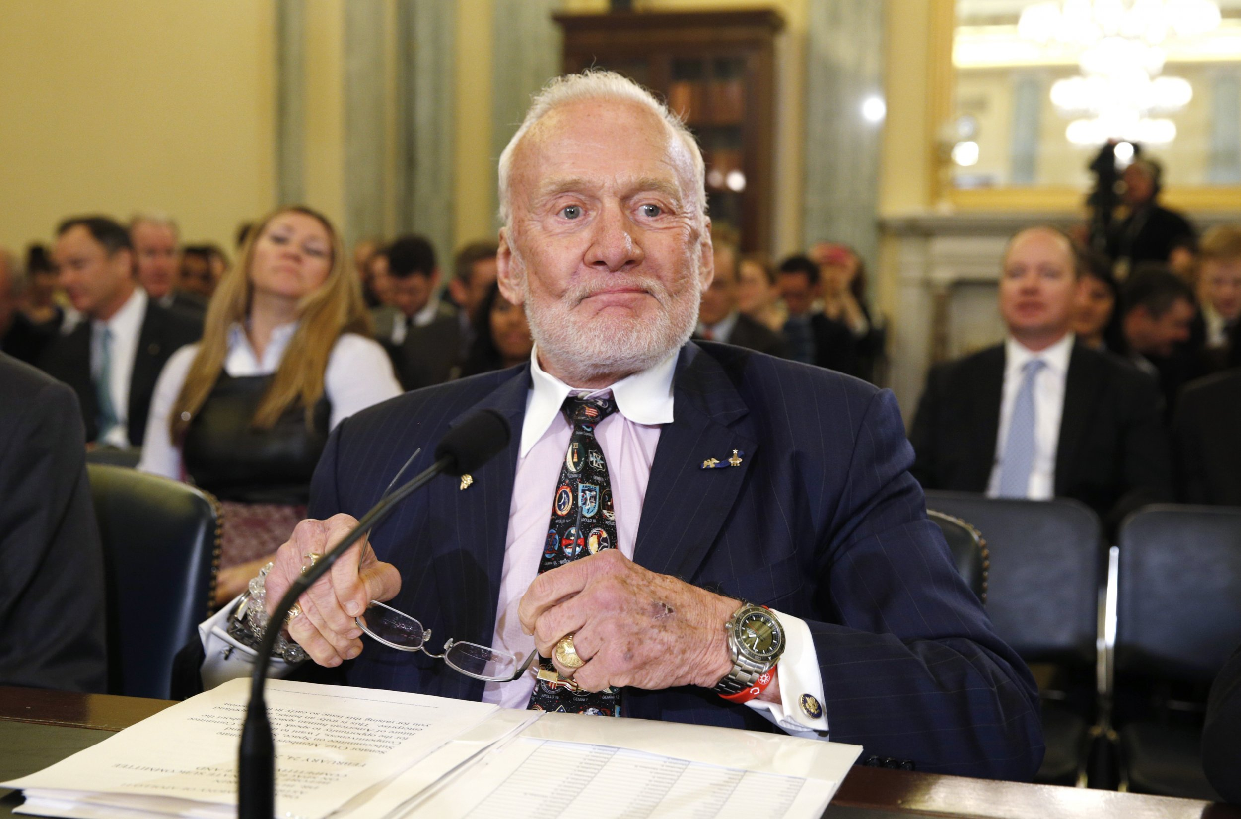 Buzz Aldrin's Plan to Get Us to Mars