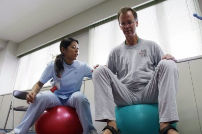 Stroke recovery therapy