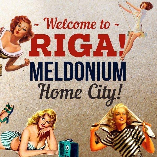 Riga Mayor Nils Usakovs has been promoting his city as the home of meldonium.