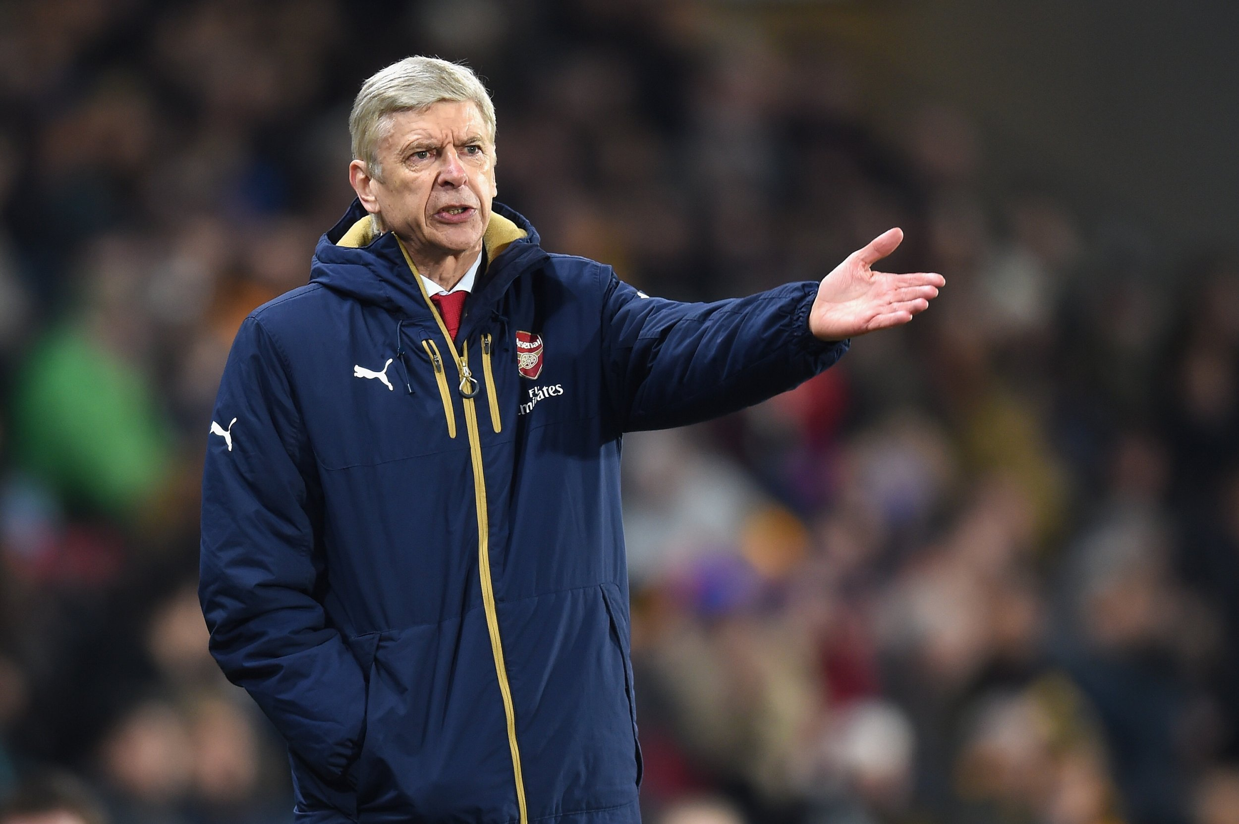Arsene Wenger is under pressure at Arsenal following a run of defeats.