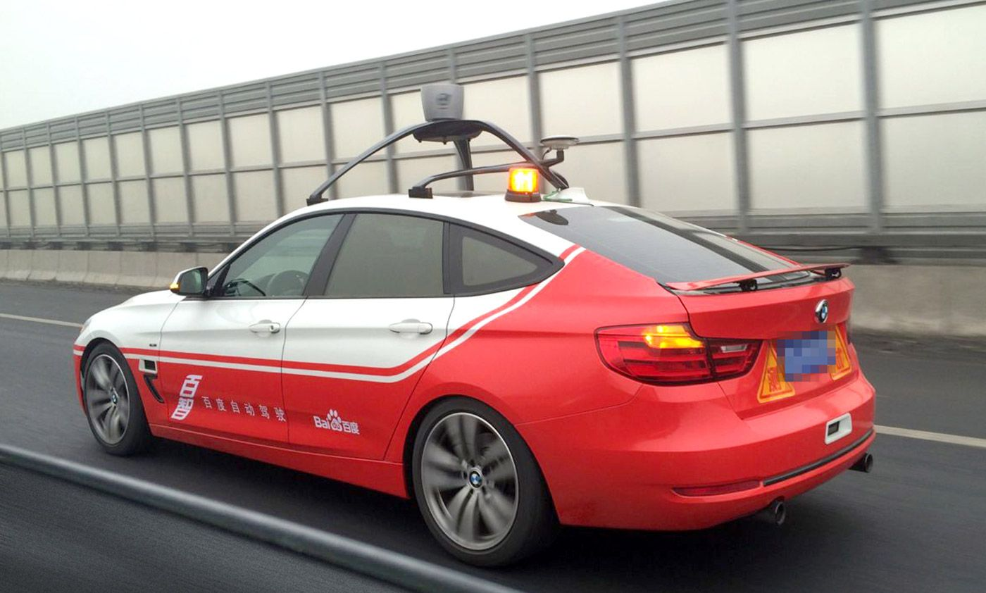 baidu self-driving car google china